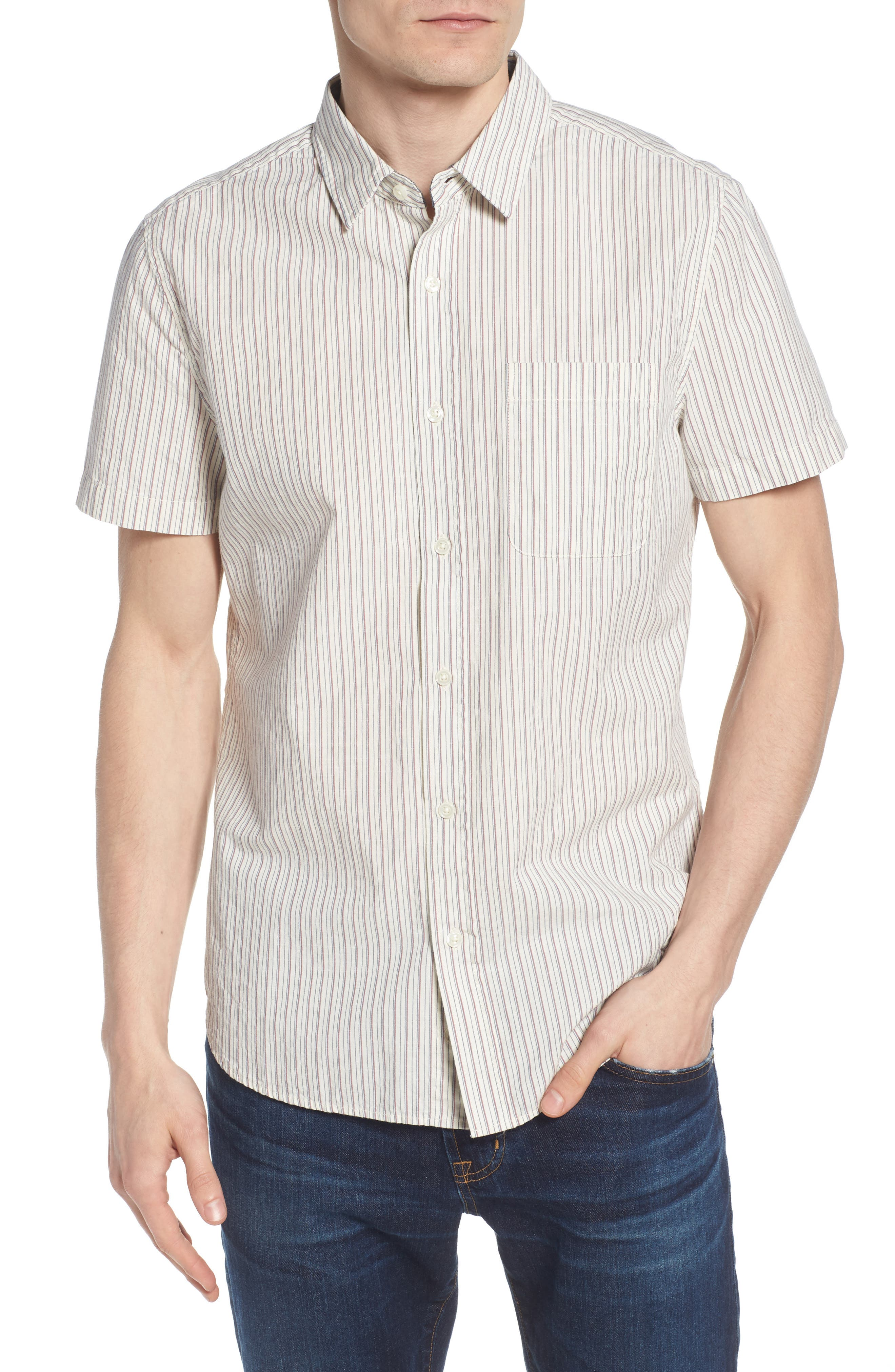 AG Nash Regular Fit Short Sleeve Sport Shirt