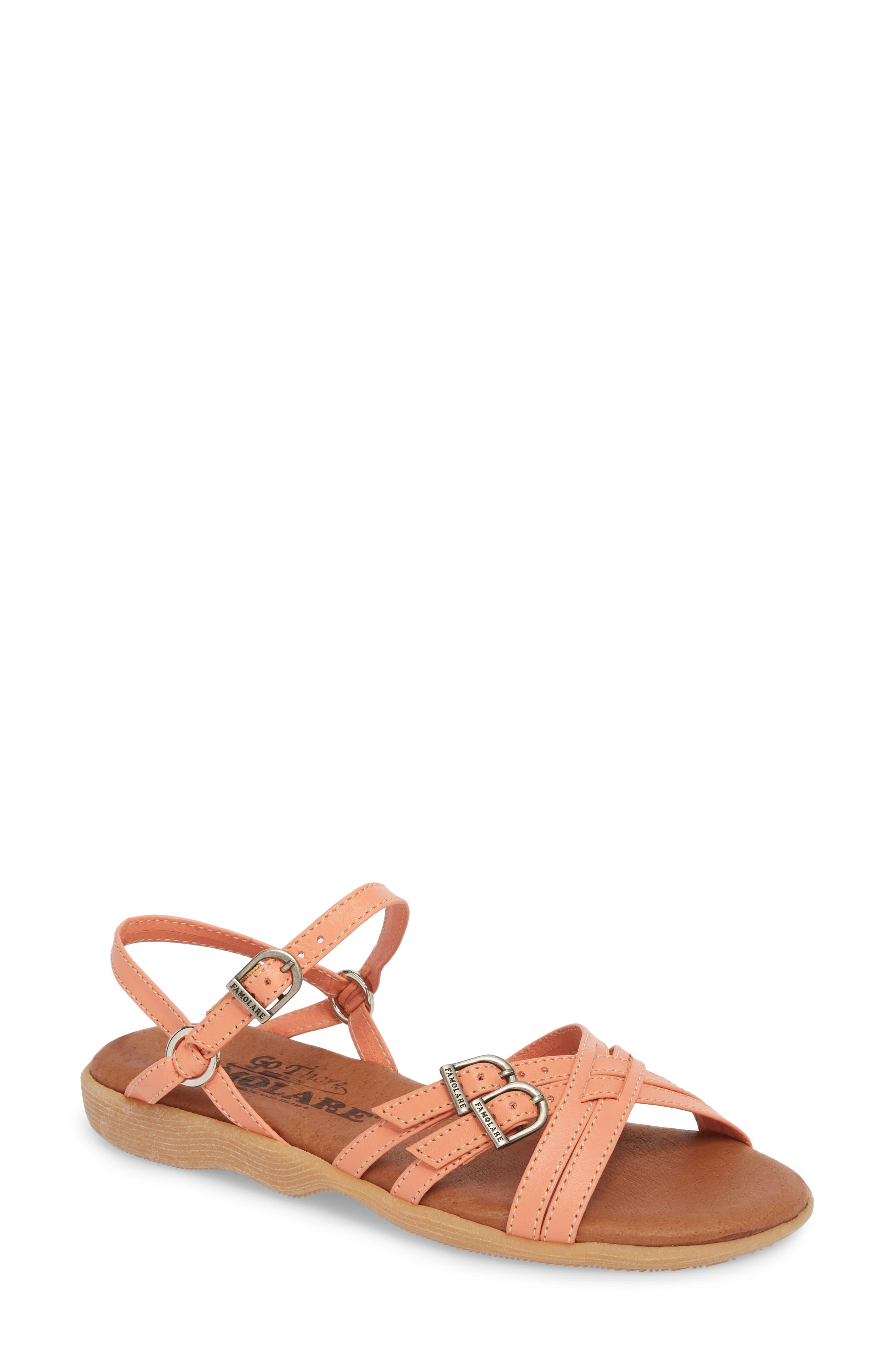 Alternate Image 1 Selected - Famolare Strapsody Buckle Sandal (Women)