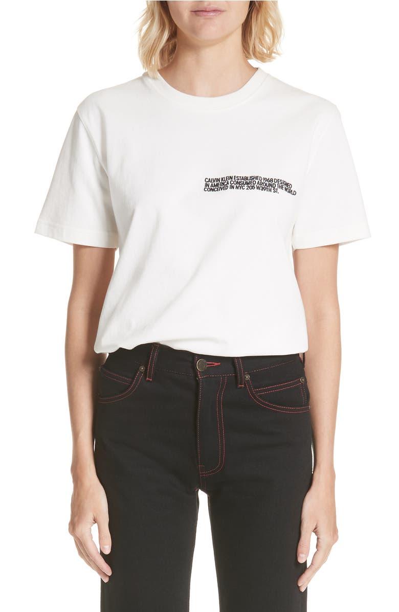 Calvin Klein 205w39nyc 205 LOGO TEE