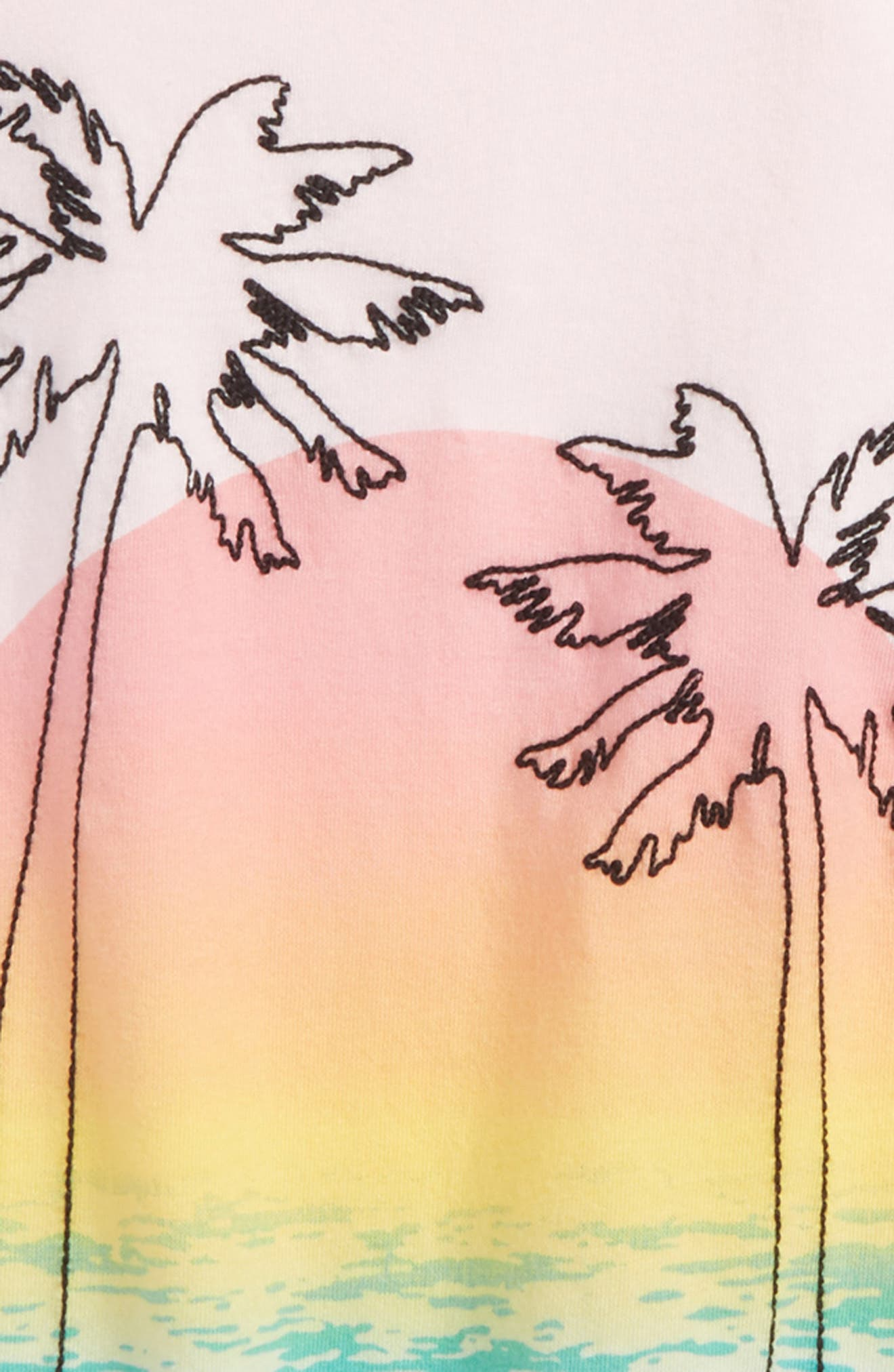Alternate Image 2  - Tucker+Tate Embroidered Tee (Big Girls)