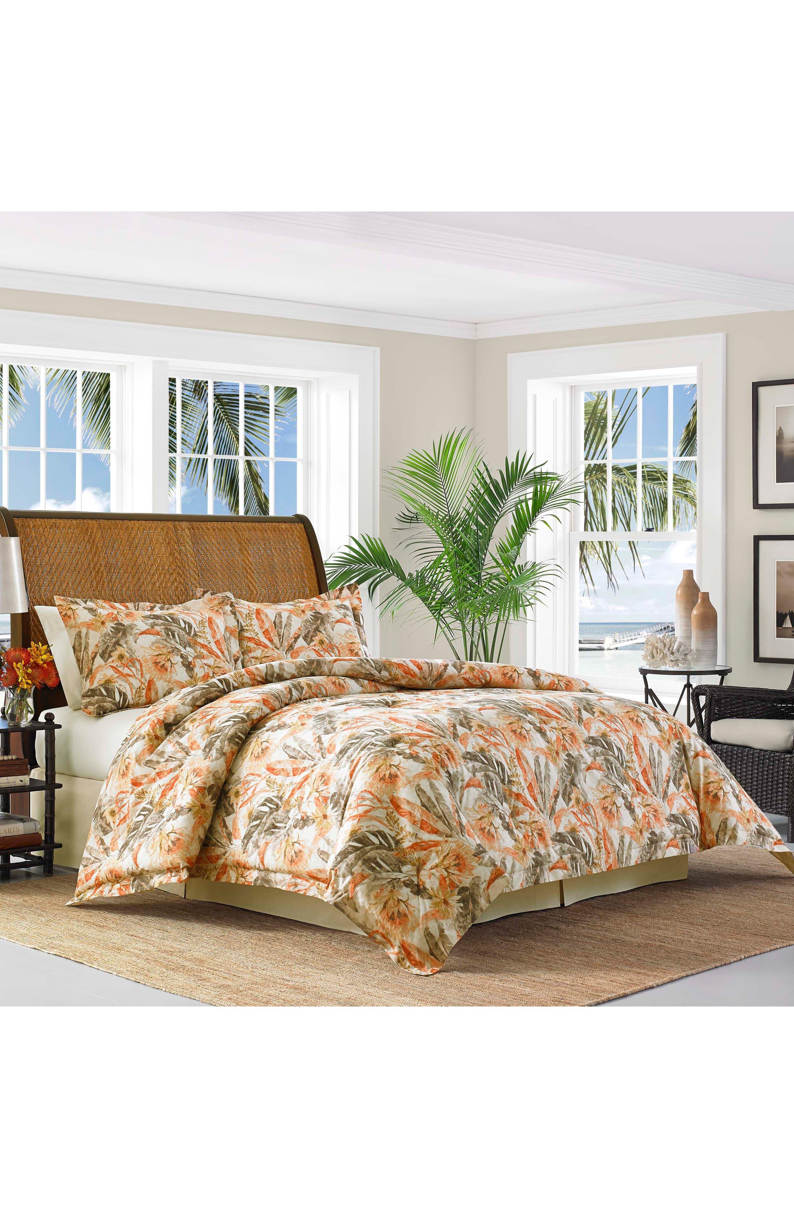Kamari Comforter, Sham & Bed Skirt Set,                         Main,                         color, Medium Orange