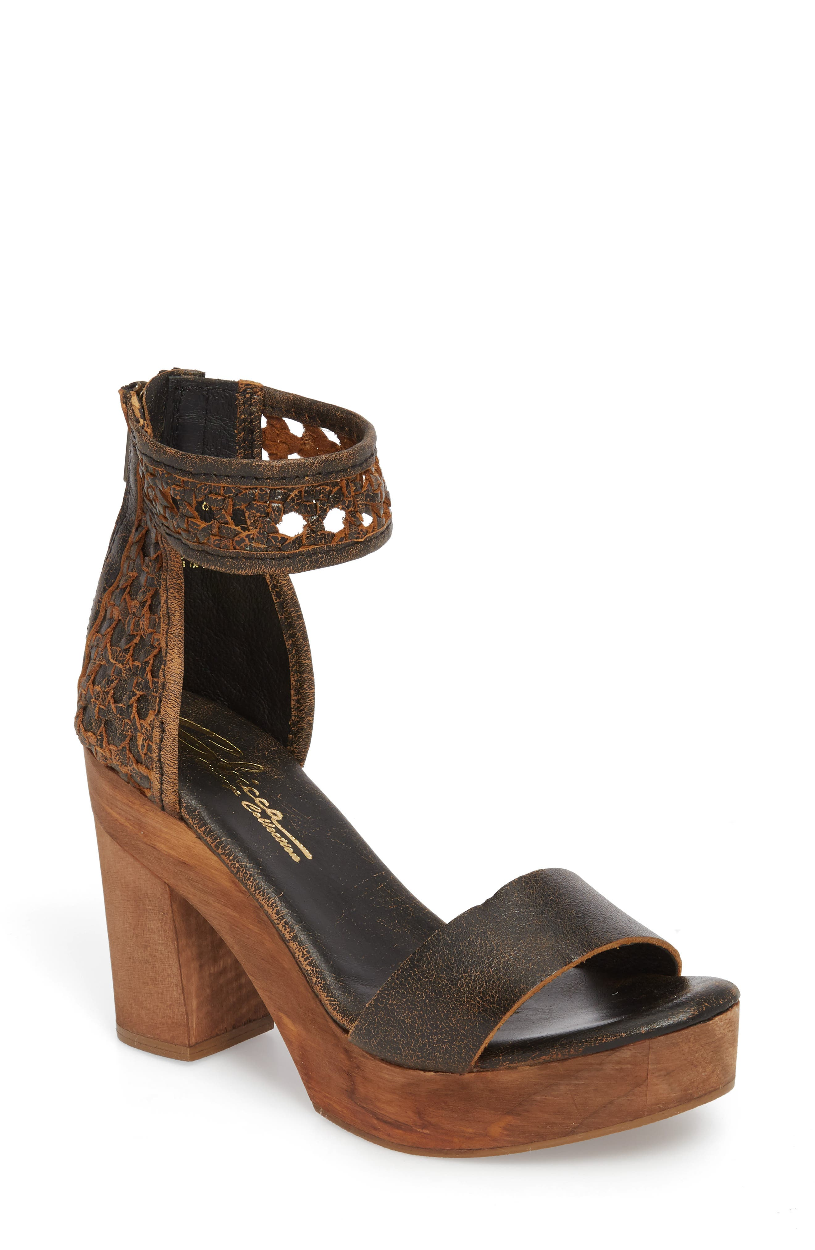 Sbicca Daytrip Woven Platform Sandal (Women)