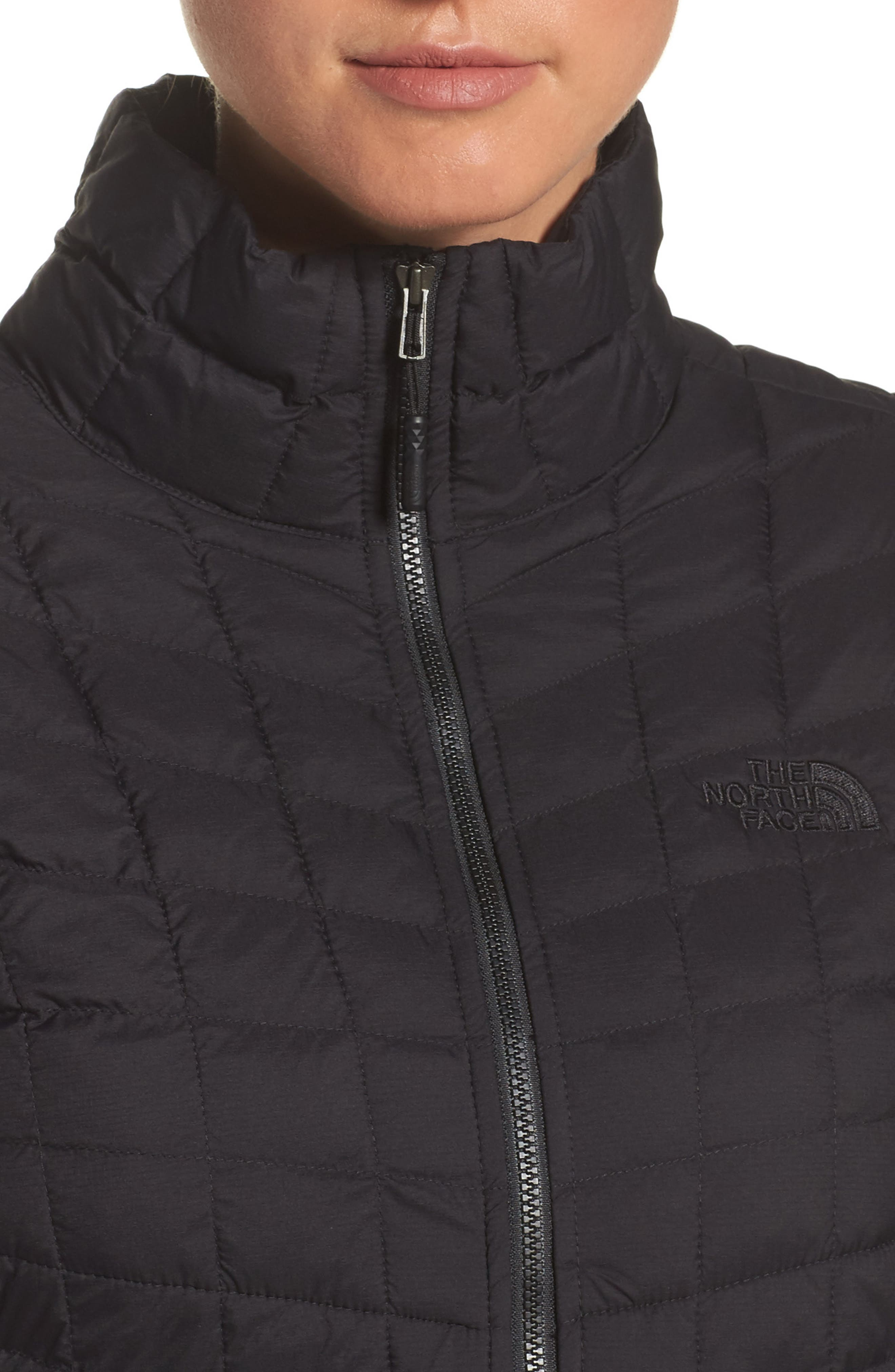 ThermoBall<sup>™</sup> Full Zip Jacket,                             Alternate thumbnail 4, color,                             Black Matte