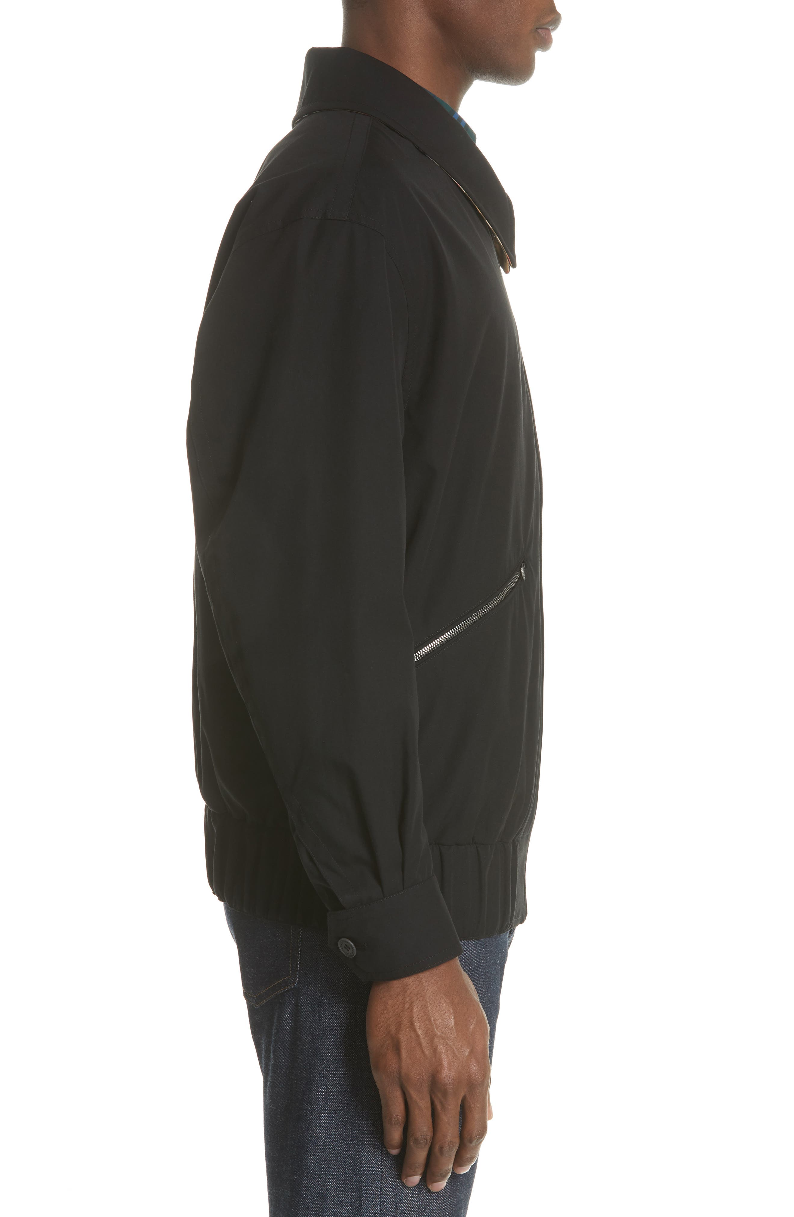 Loweswater Jacket,                             Alternate thumbnail 3, color,                             Black