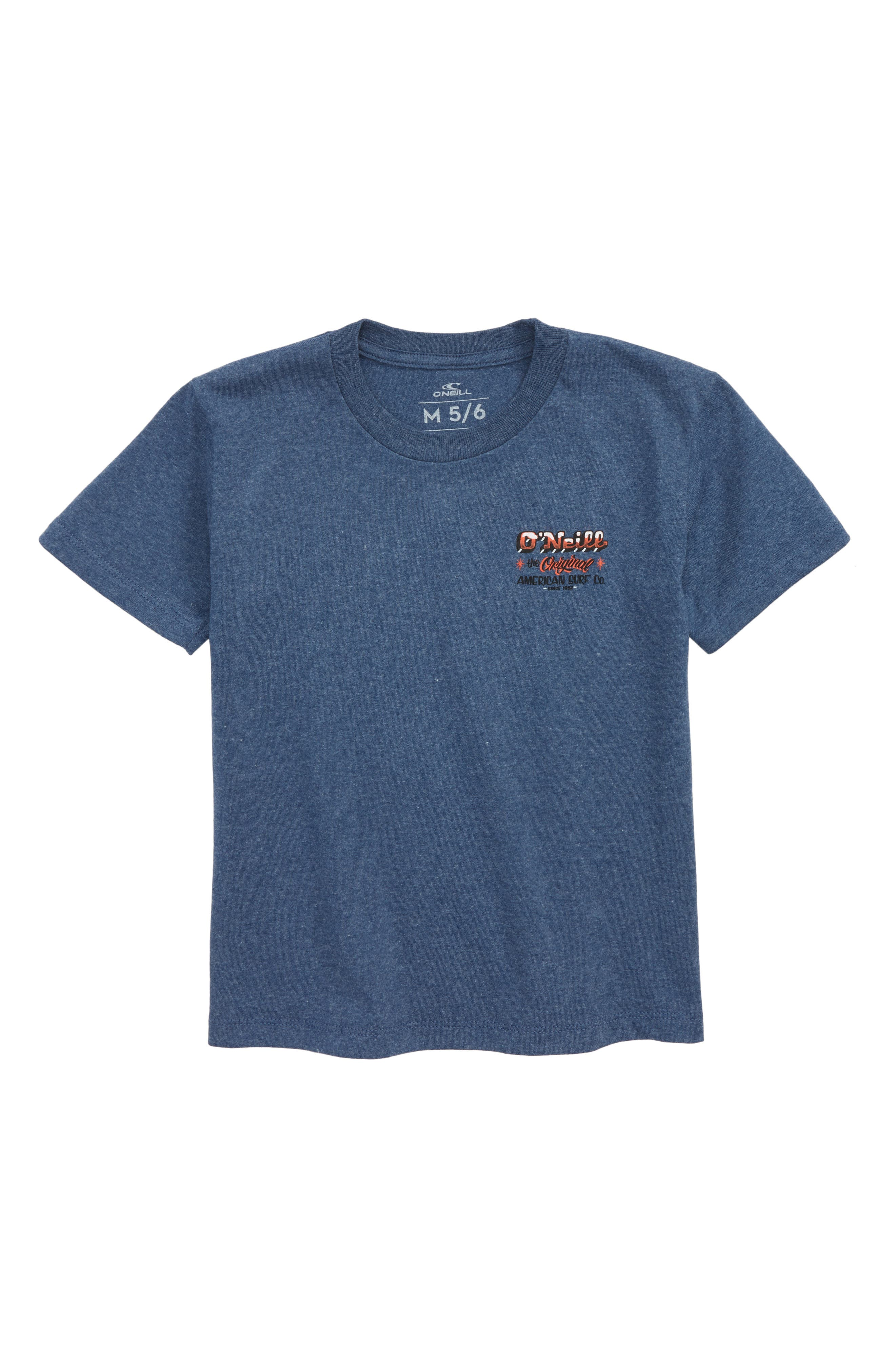 Tuki Graphic T-Shirt,                         Main,                         color, Navy Heather