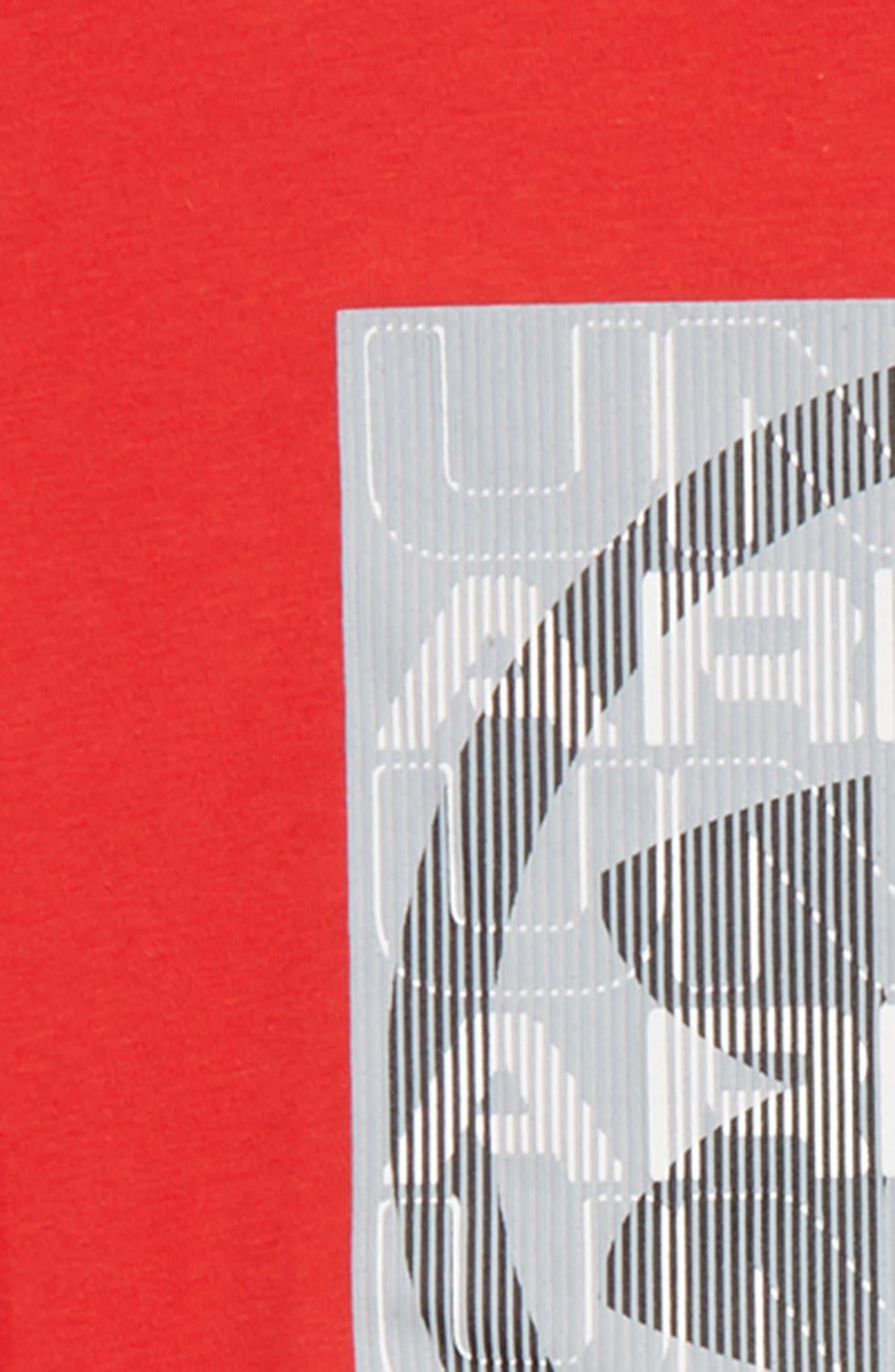Visualogo T-Shirt,                             Alternate thumbnail 2, color,                             Red/ Black