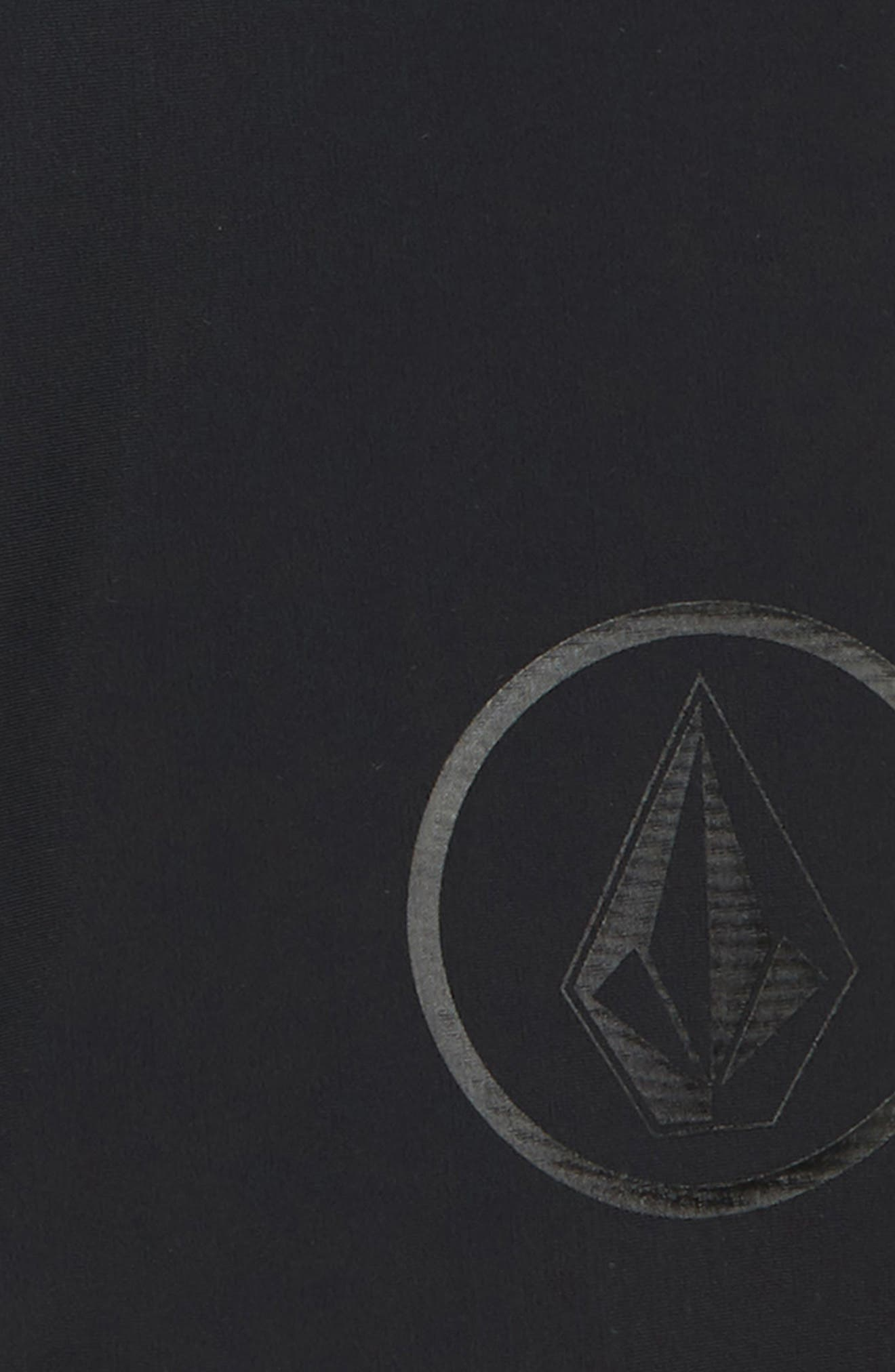 JJ Chones Compression Shorts,                             Alternate thumbnail 2, color,                             Black