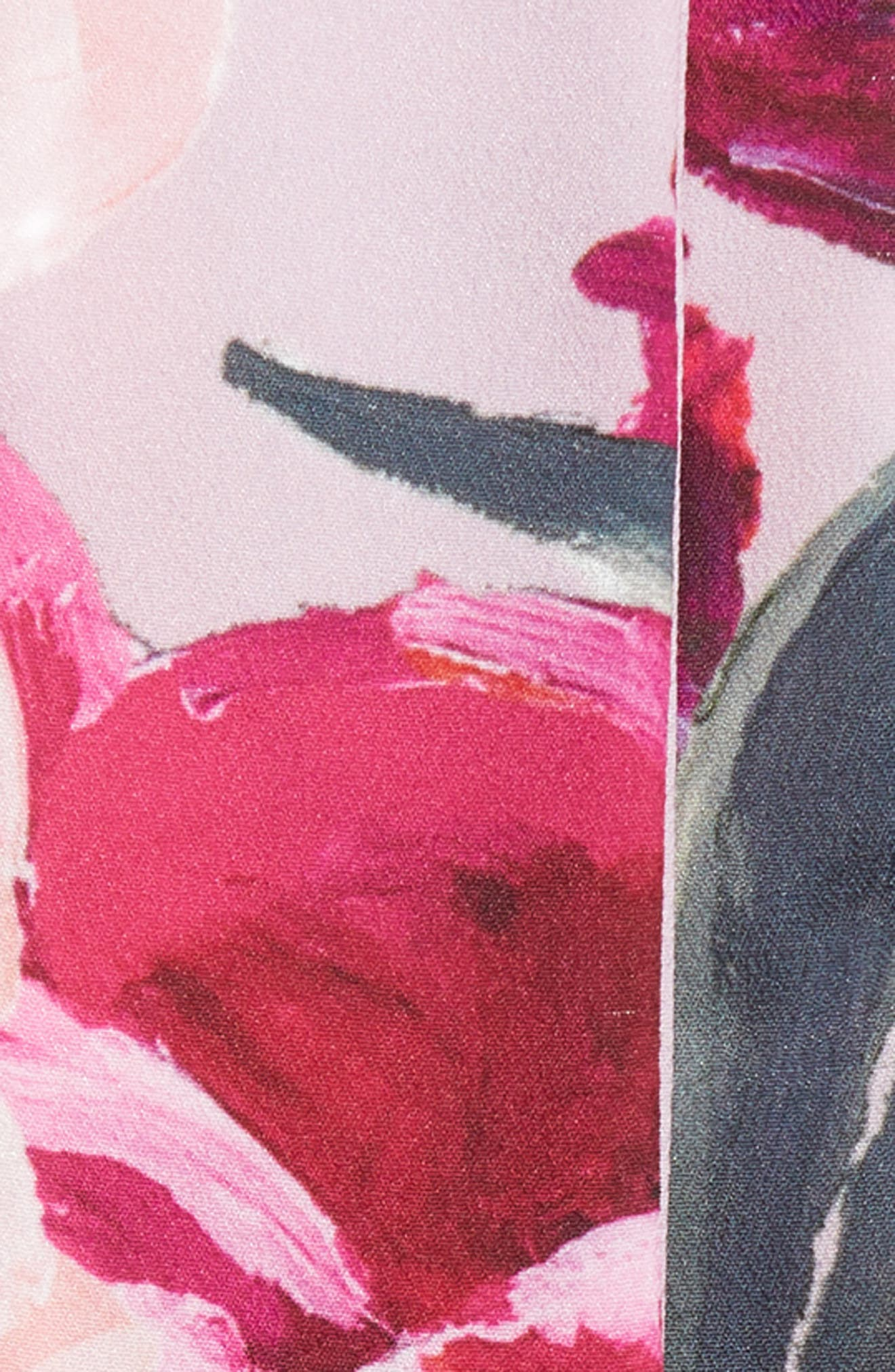 Mini Serenity Skinny Scarf,                             Alternate thumbnail 4, color,                             Pale Pink