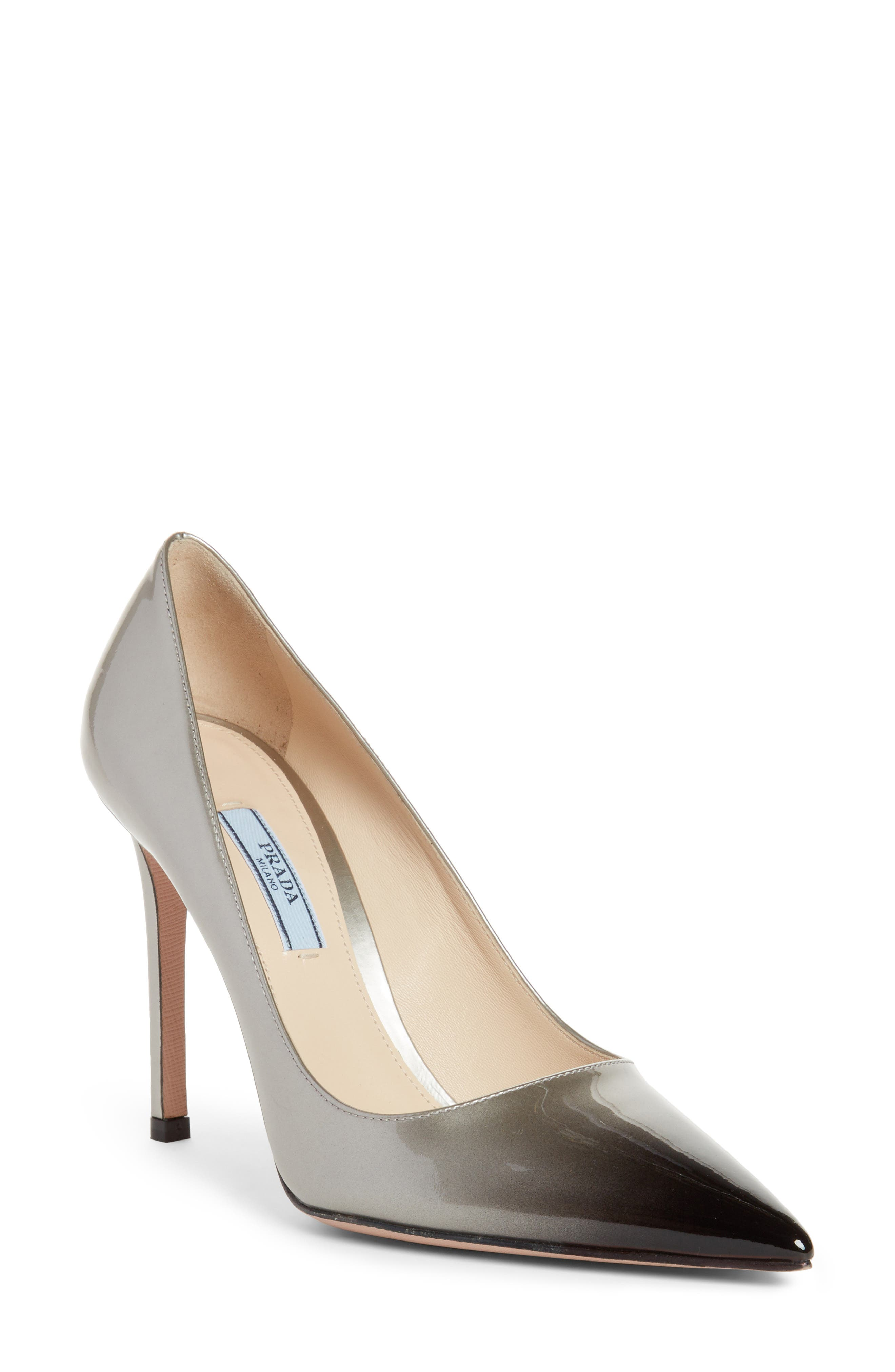 Prada Ombré Pointy Toe Pump (Women)