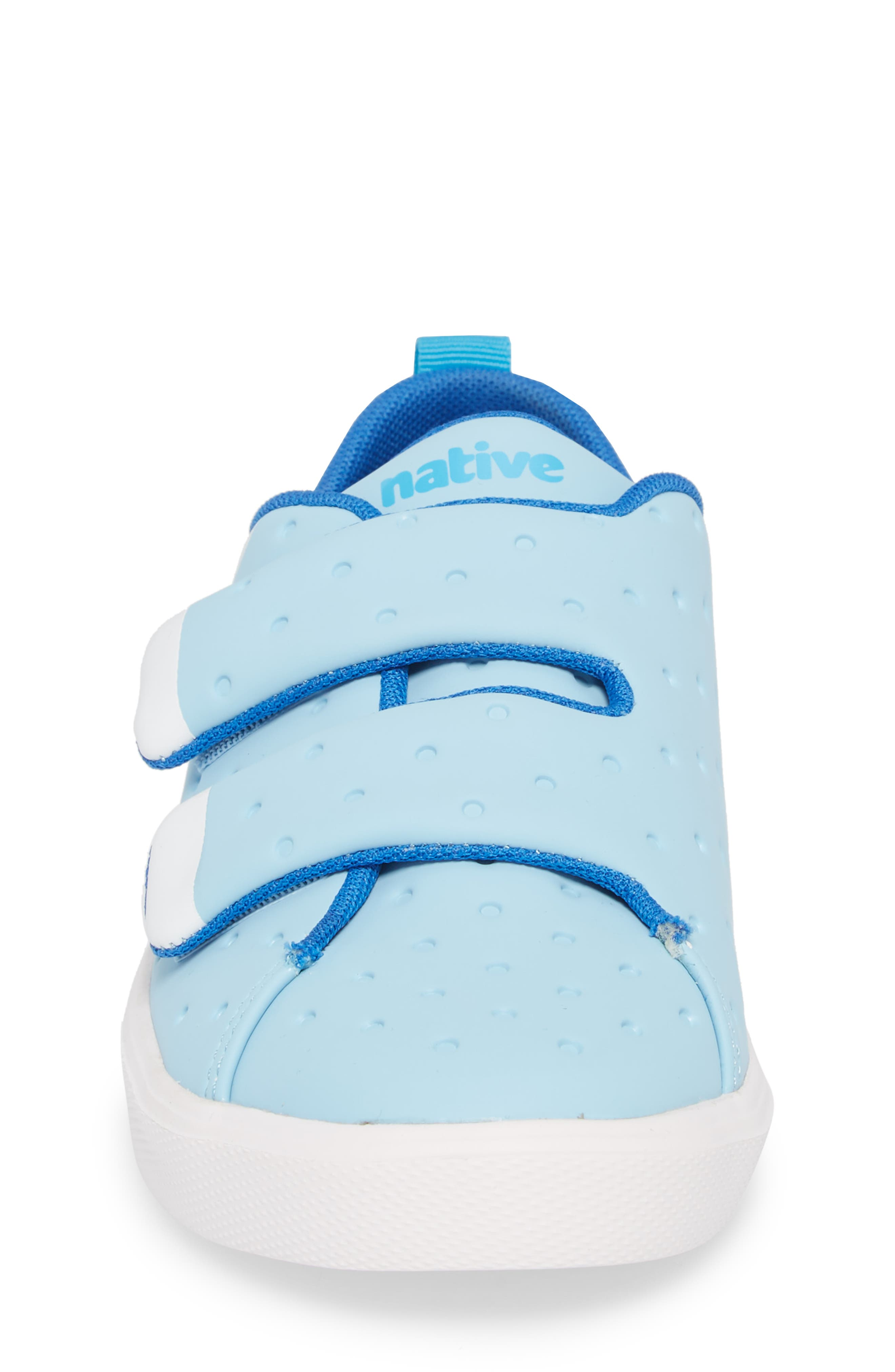Monaco Sneaker,                             Alternate thumbnail 4, color,                             Sky Blue/ Shell White