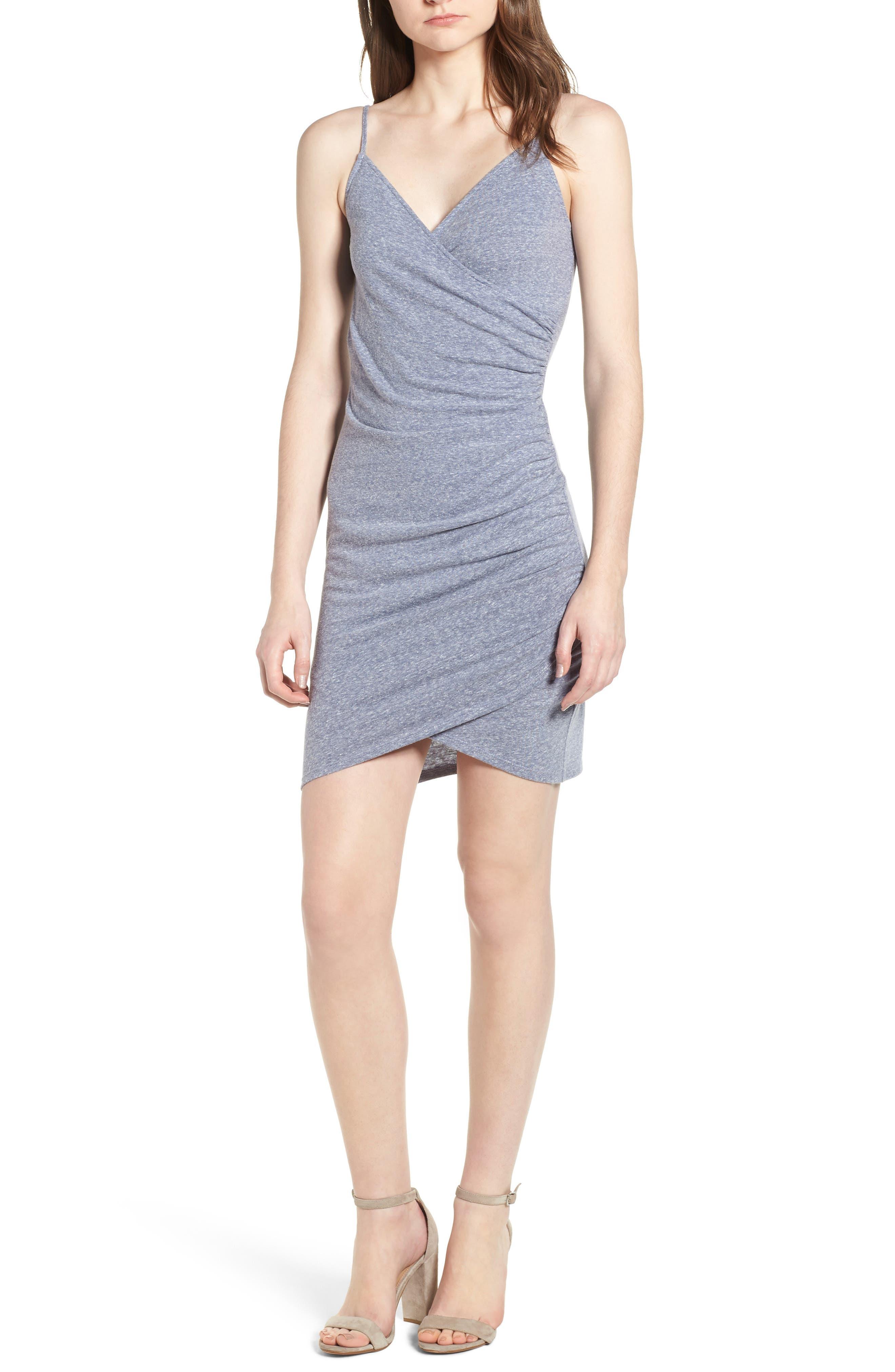Soprano Ruched Sheath Dress