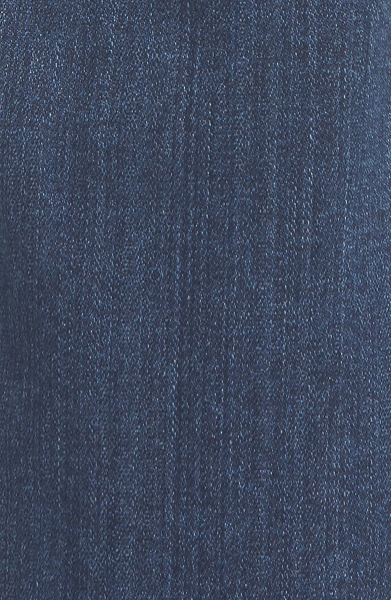 Normandie Straight Leg Jeans,                             Alternate thumbnail 5, color,                             Lowe