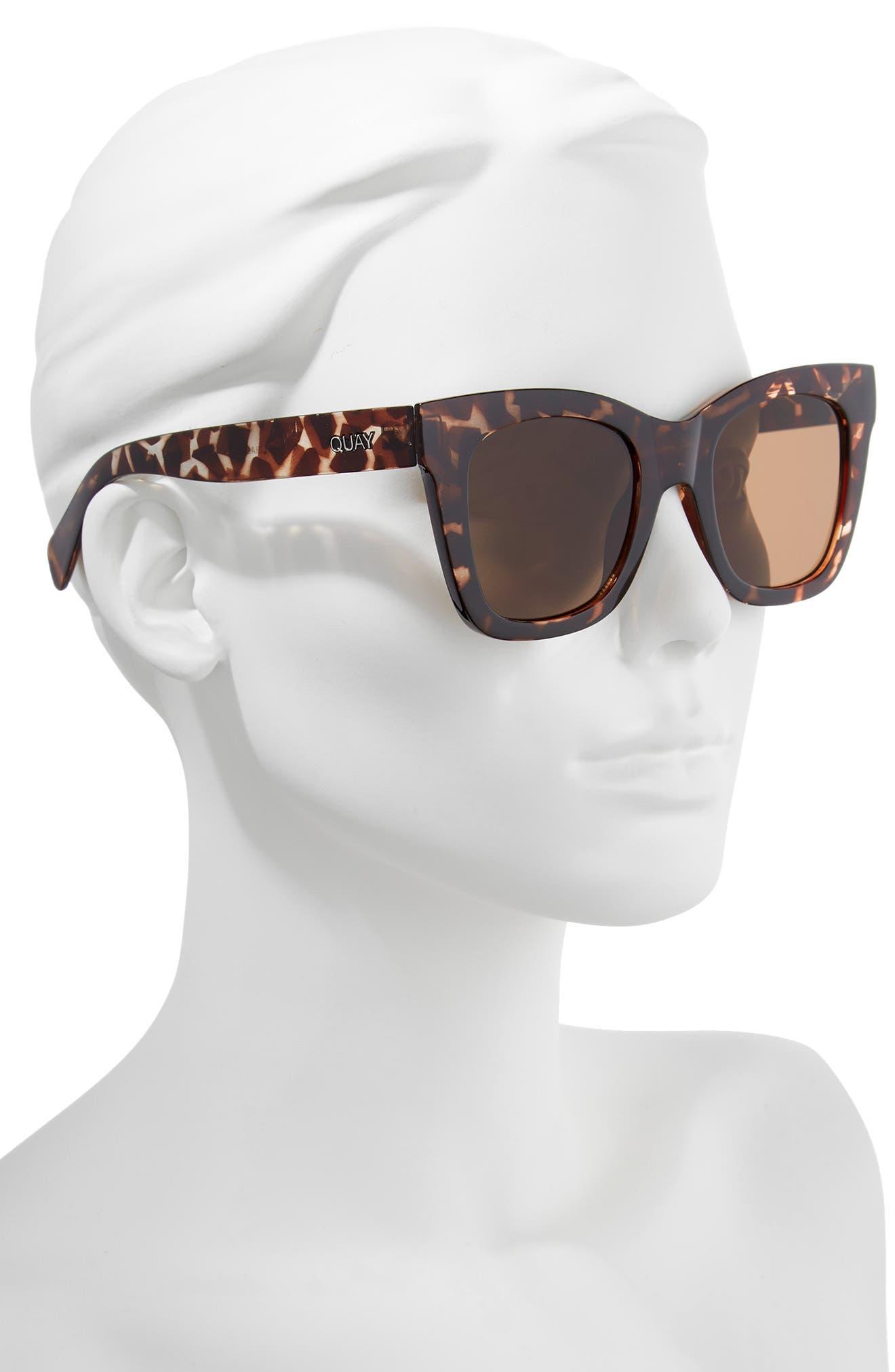 Alternate Image 2  - Quay Australia After Hours 50mm Square Sunglasses