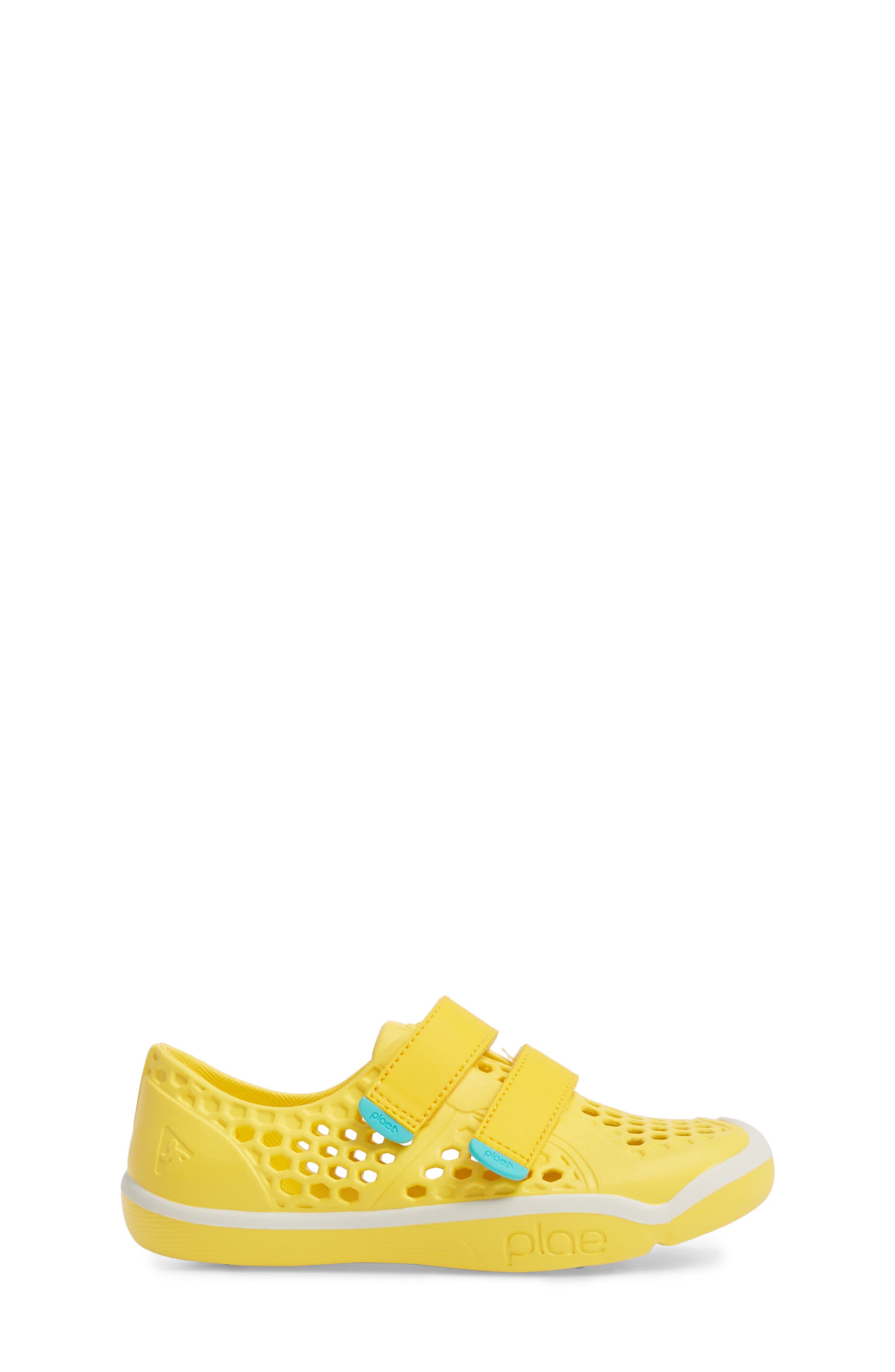 Mimo Customizable Sneaker,                             Alternate thumbnail 3, color,                             Dandelion