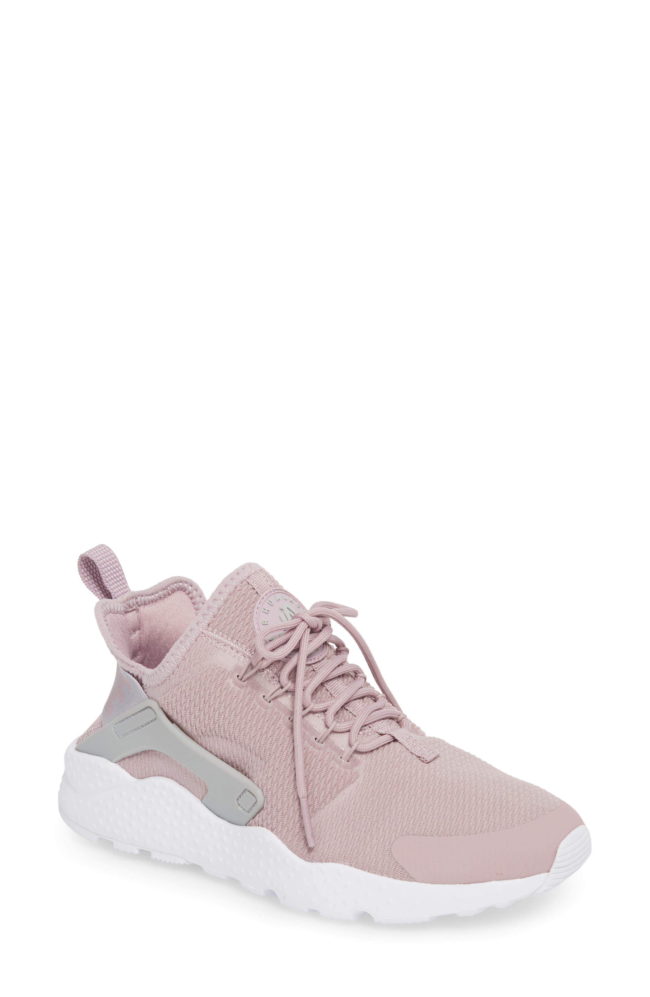 Air Huarache Sneaker,                         Main,                         color, Elemental Rose/ Wolf Grey