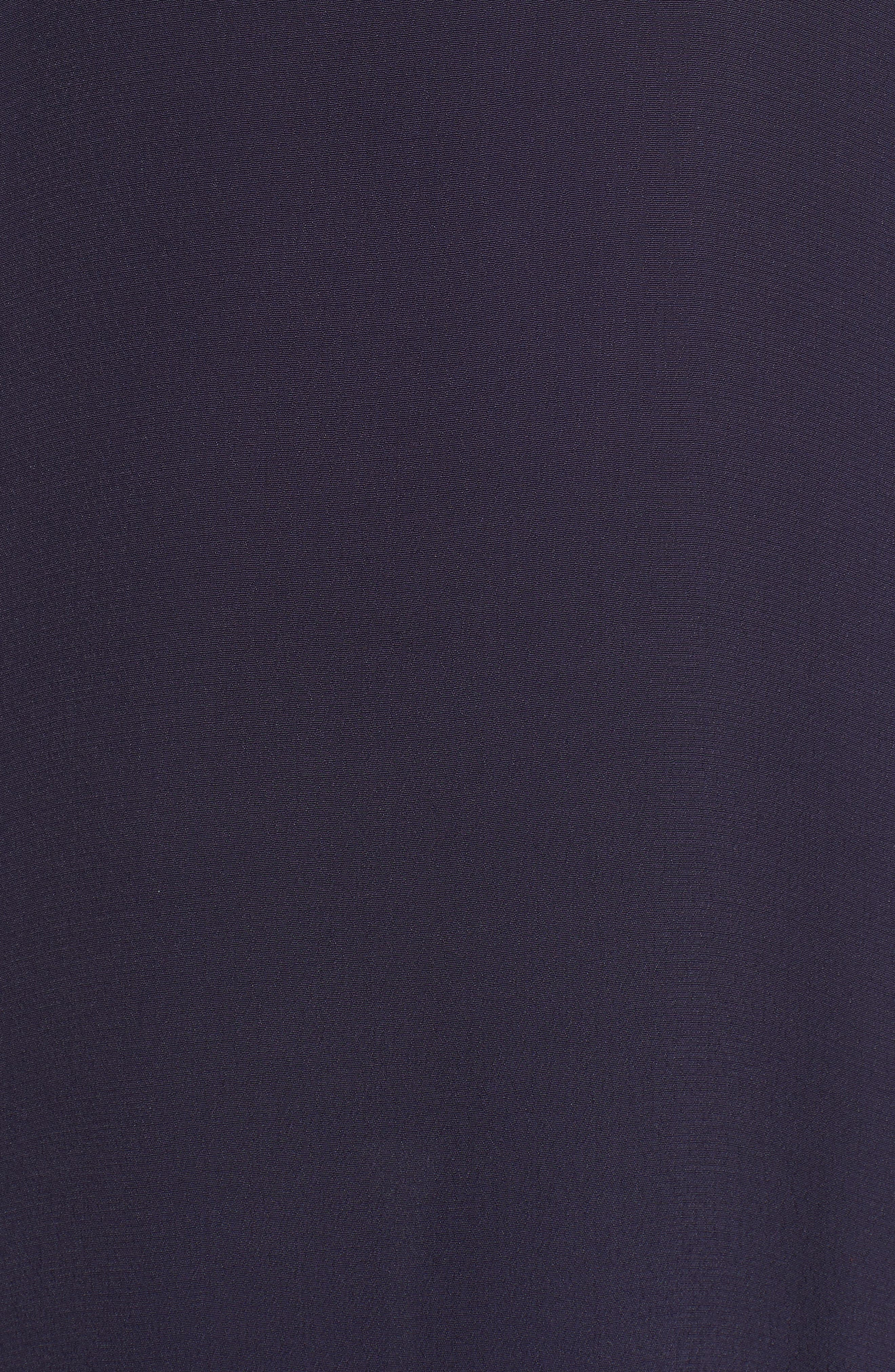 Maxi Dress,                             Alternate thumbnail 6, color,                             Navy