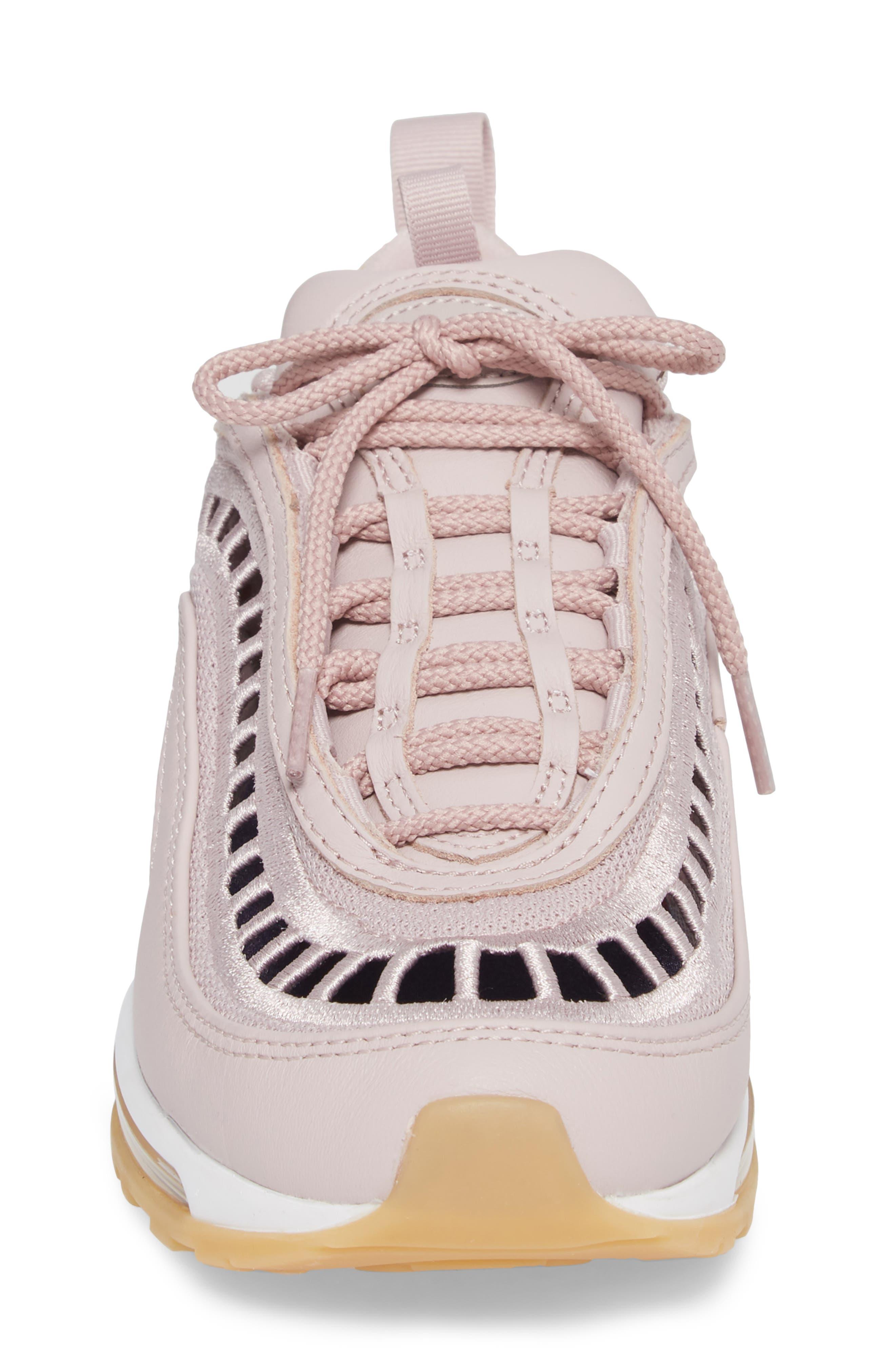 Air Max 97 Ultra '17 SI Sneaker,                             Alternate thumbnail 4, color,                             Particle Rose/ Neutral Indigo