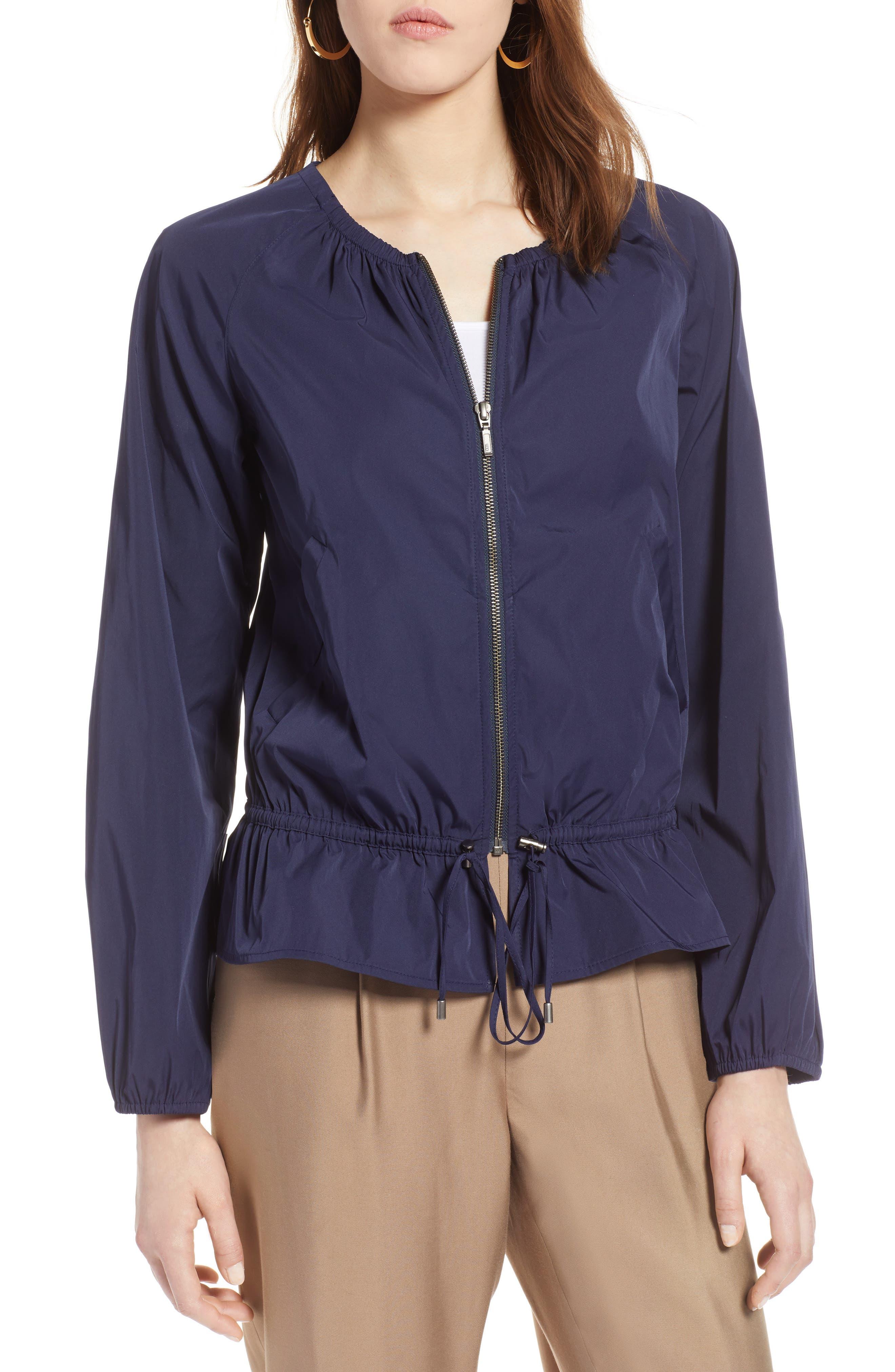 Halogen® Drawstring Jacket (Regular & Petite)