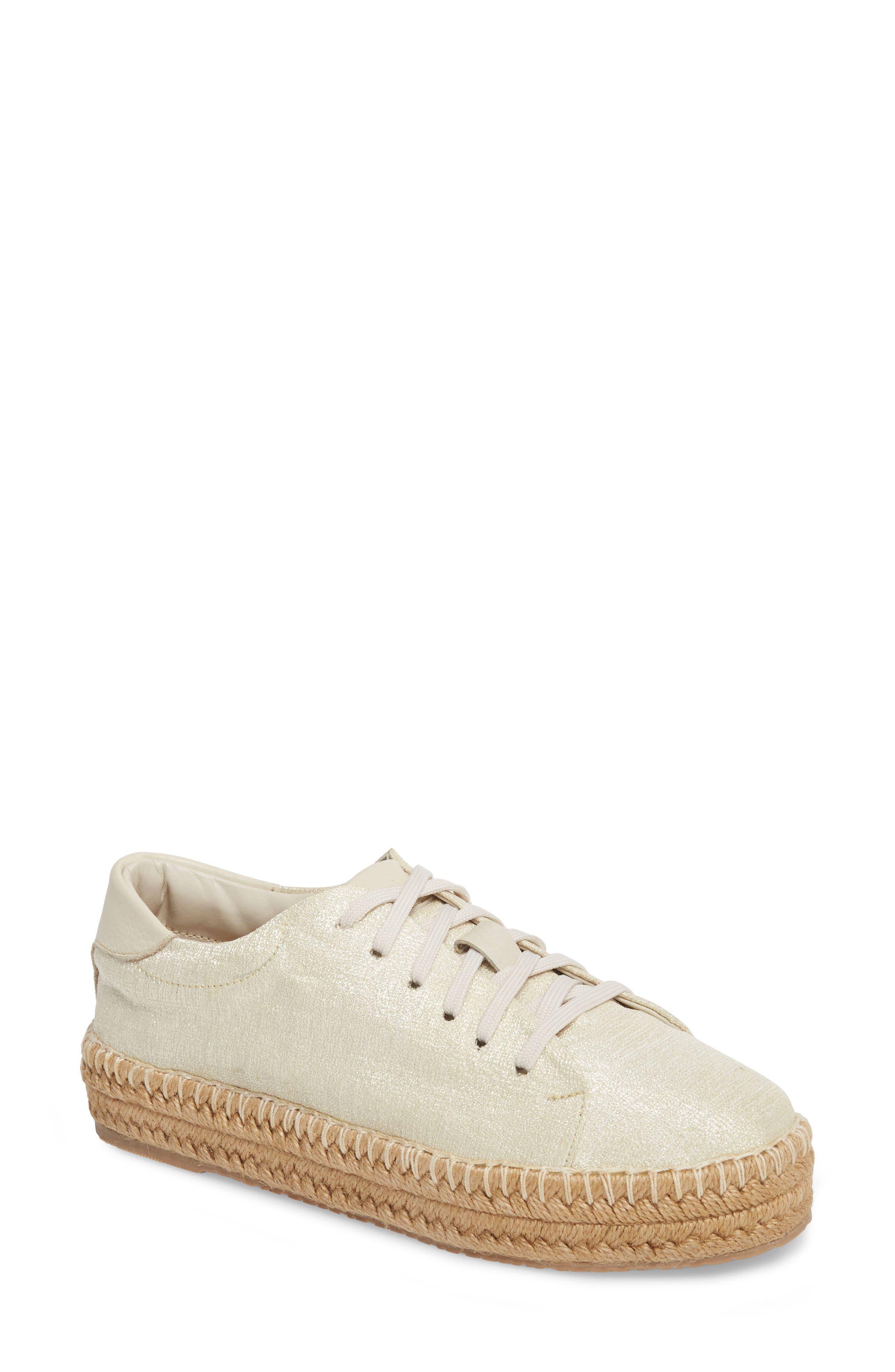 Nogales Sneaker Espadrille,                         Main,                         color, Ivory