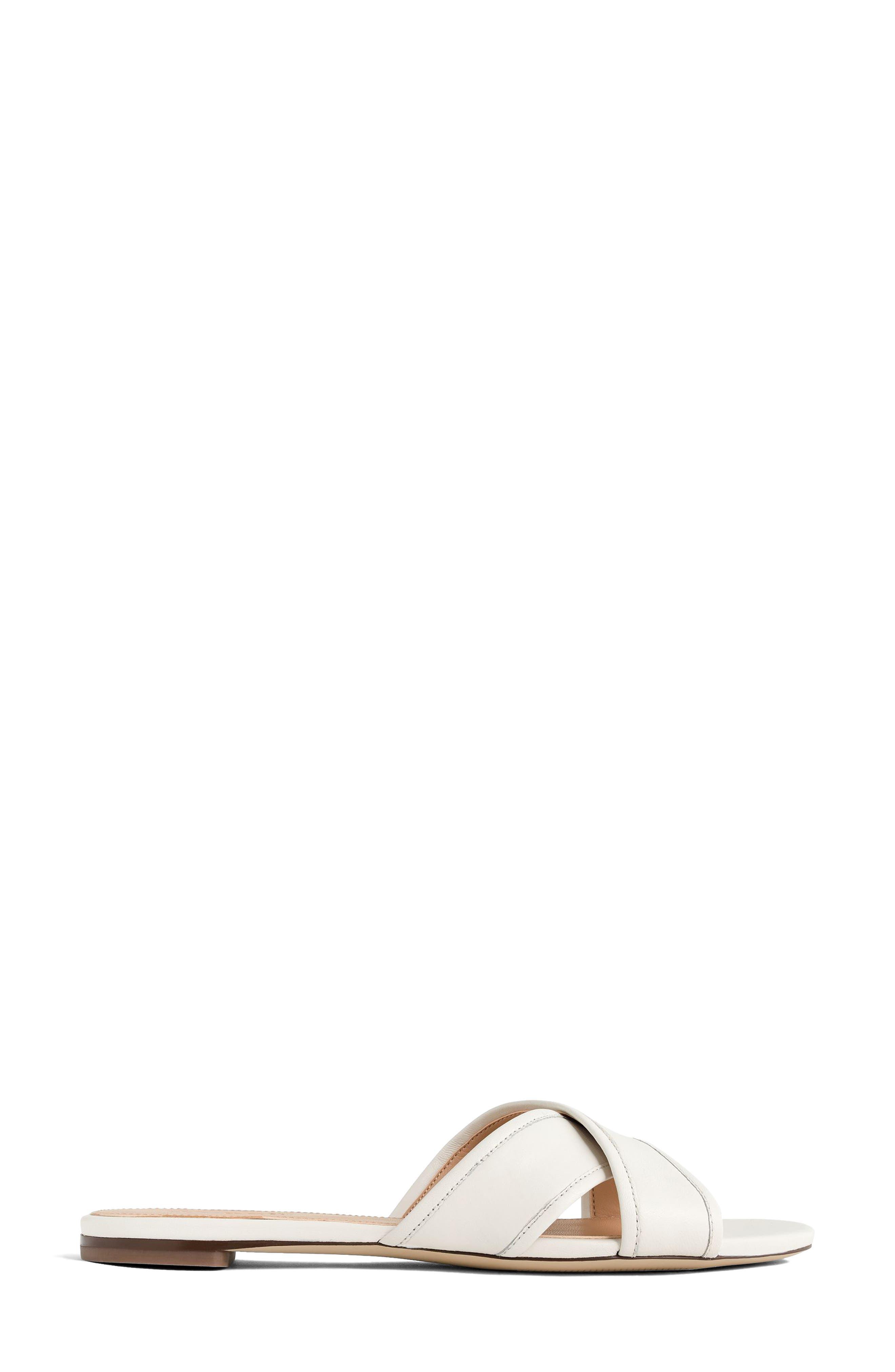 Cora Slide Sandal,                             Alternate thumbnail 2, color,                             Vintage Champagne Leather