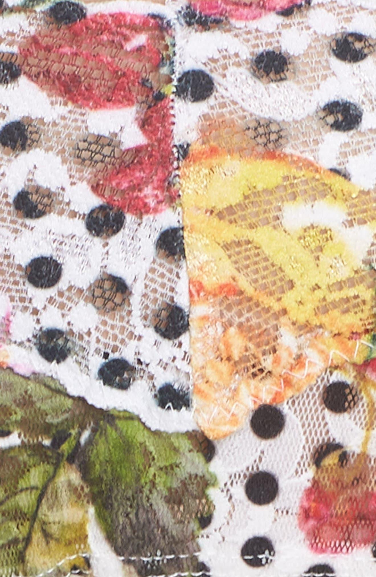 Print Low Rise Thong,                             Alternate thumbnail 5, color,                             Copacabana