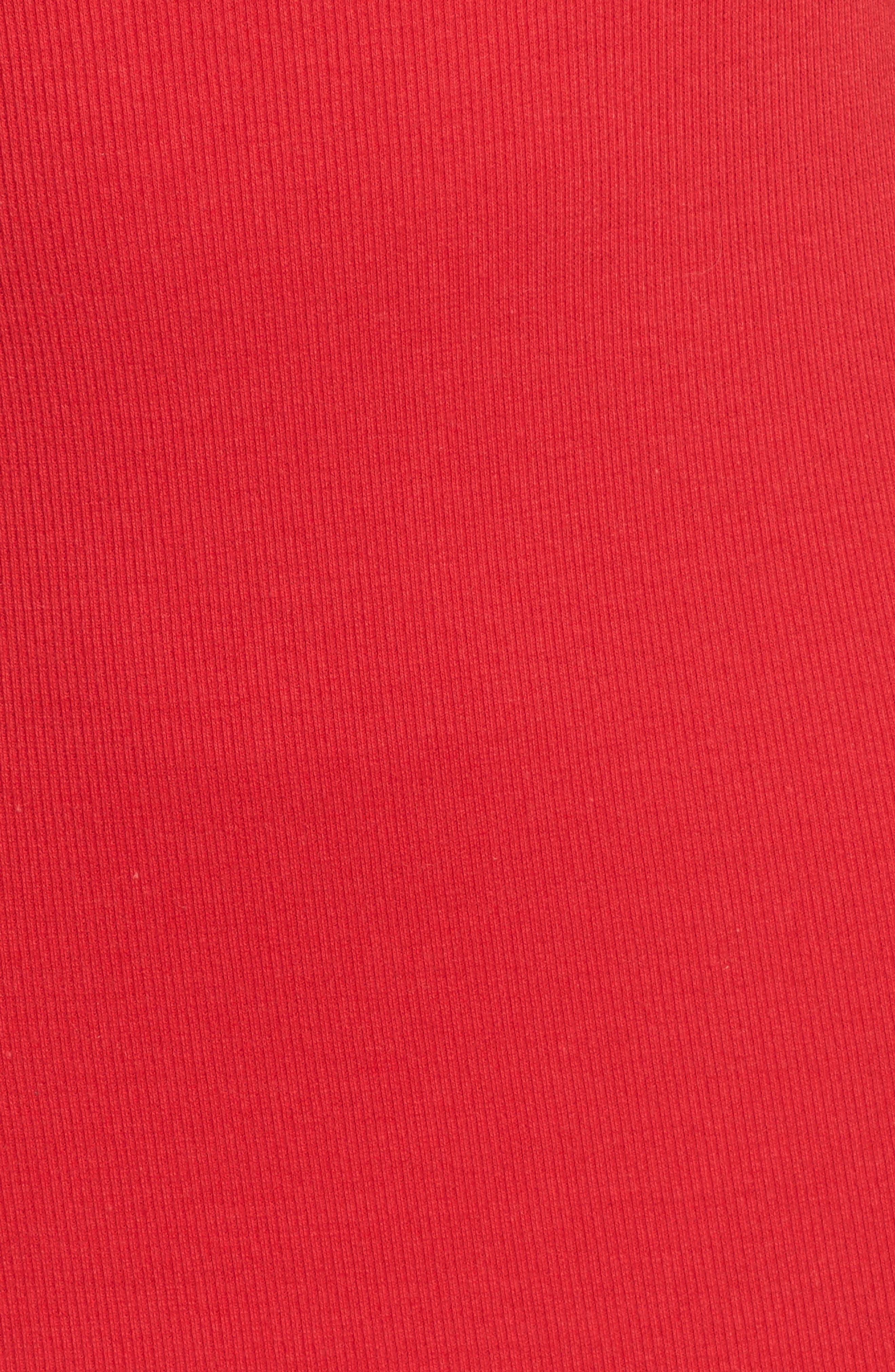Cutout Dress,                             Alternate thumbnail 6, color,                             Red