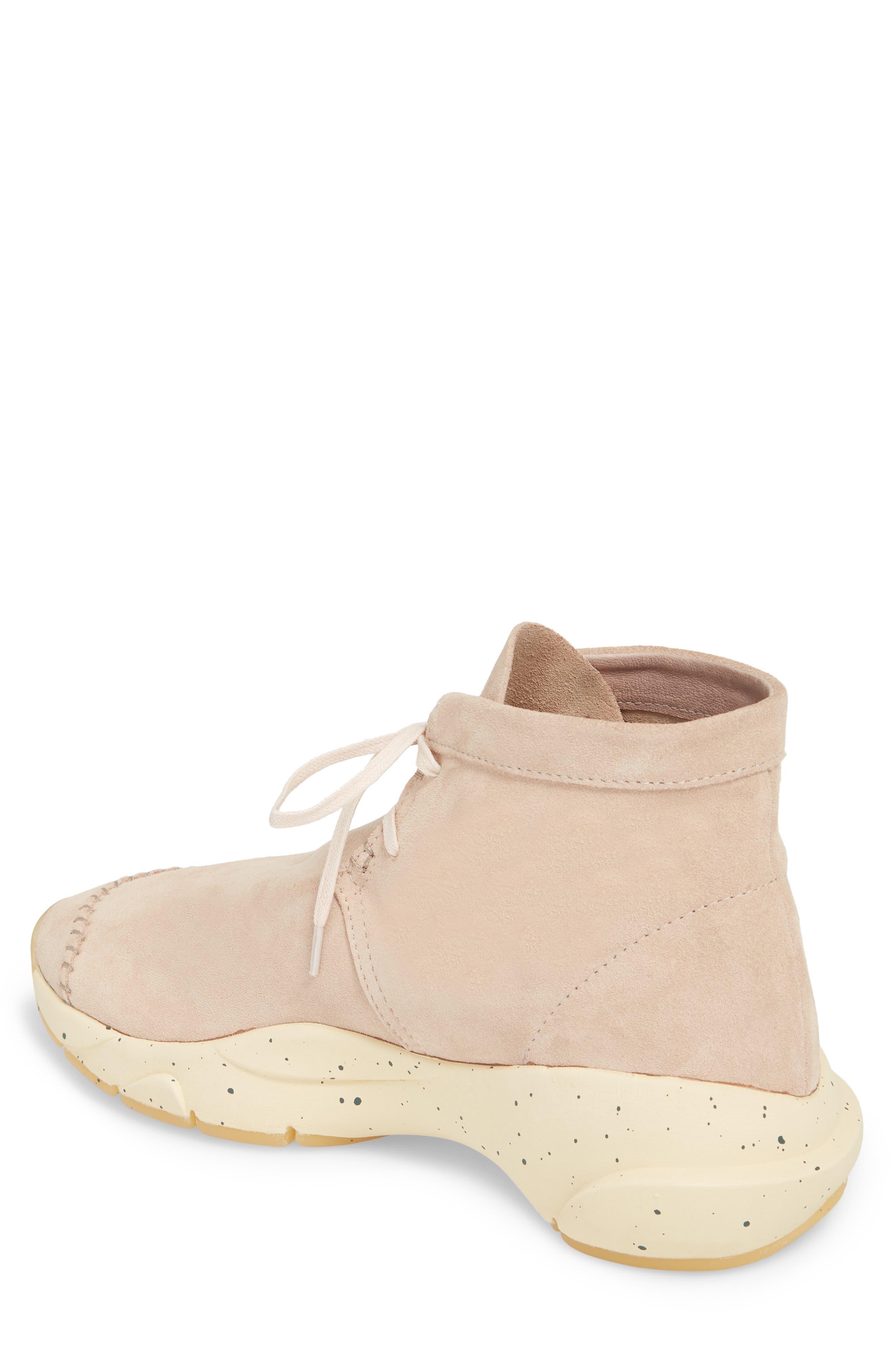 Castas Asymmetrical Chukka Sneaker,                             Alternate thumbnail 2, color,                             Rose Dust