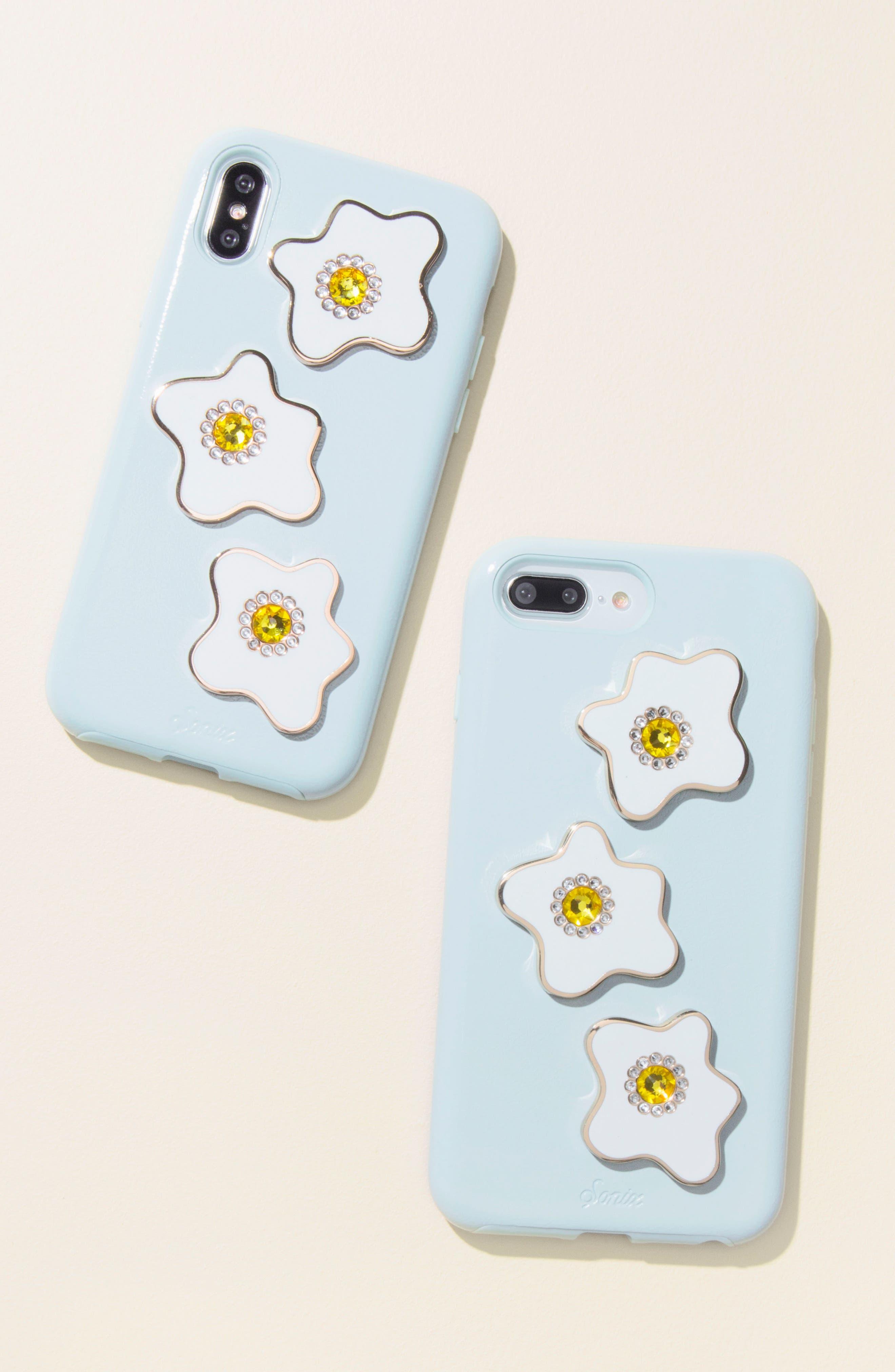 Eggy iPhone X Case,                             Alternate thumbnail 3, color,