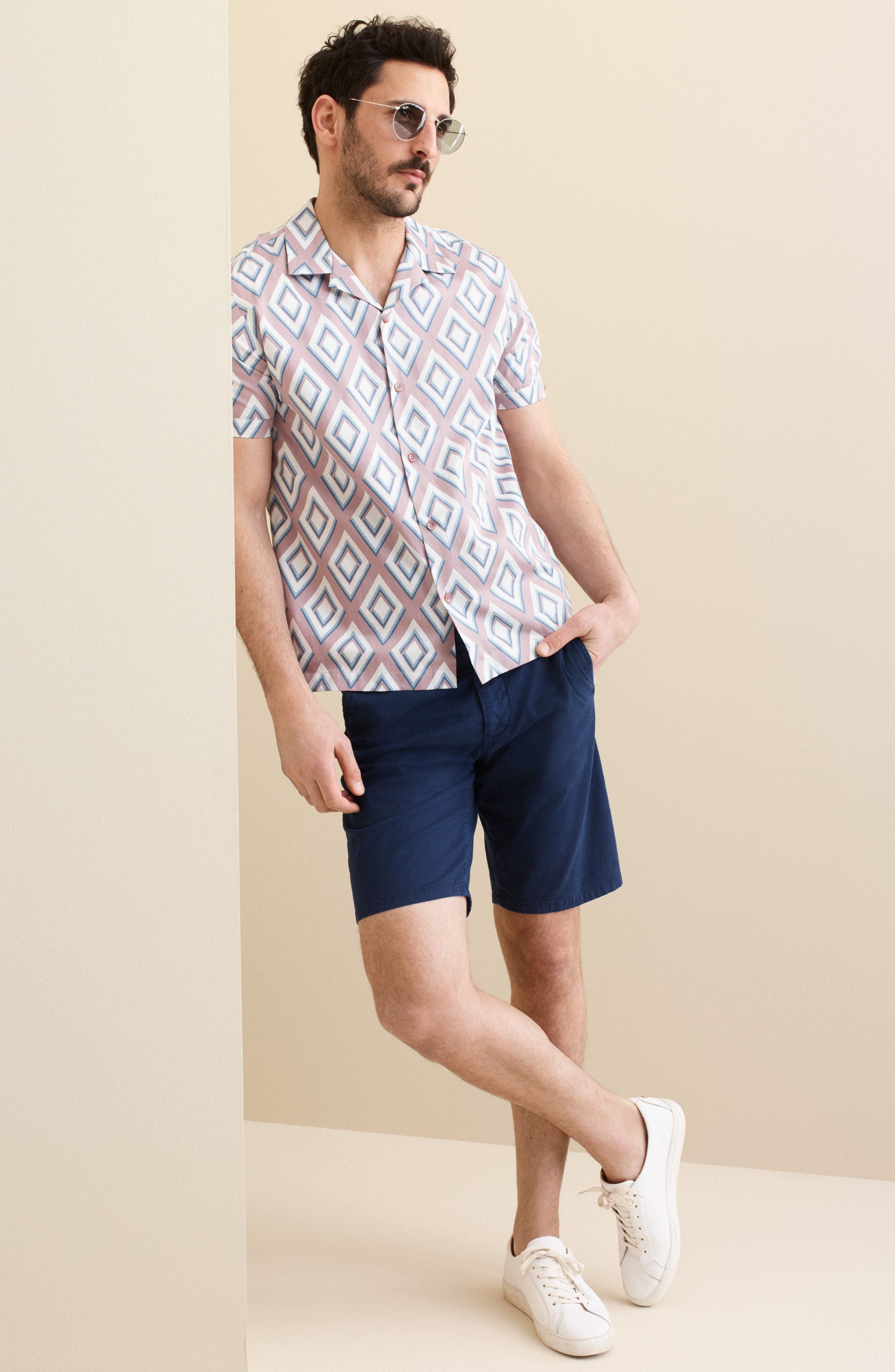Stretch Chino Dock Shorts,                             Alternate thumbnail 5, color,