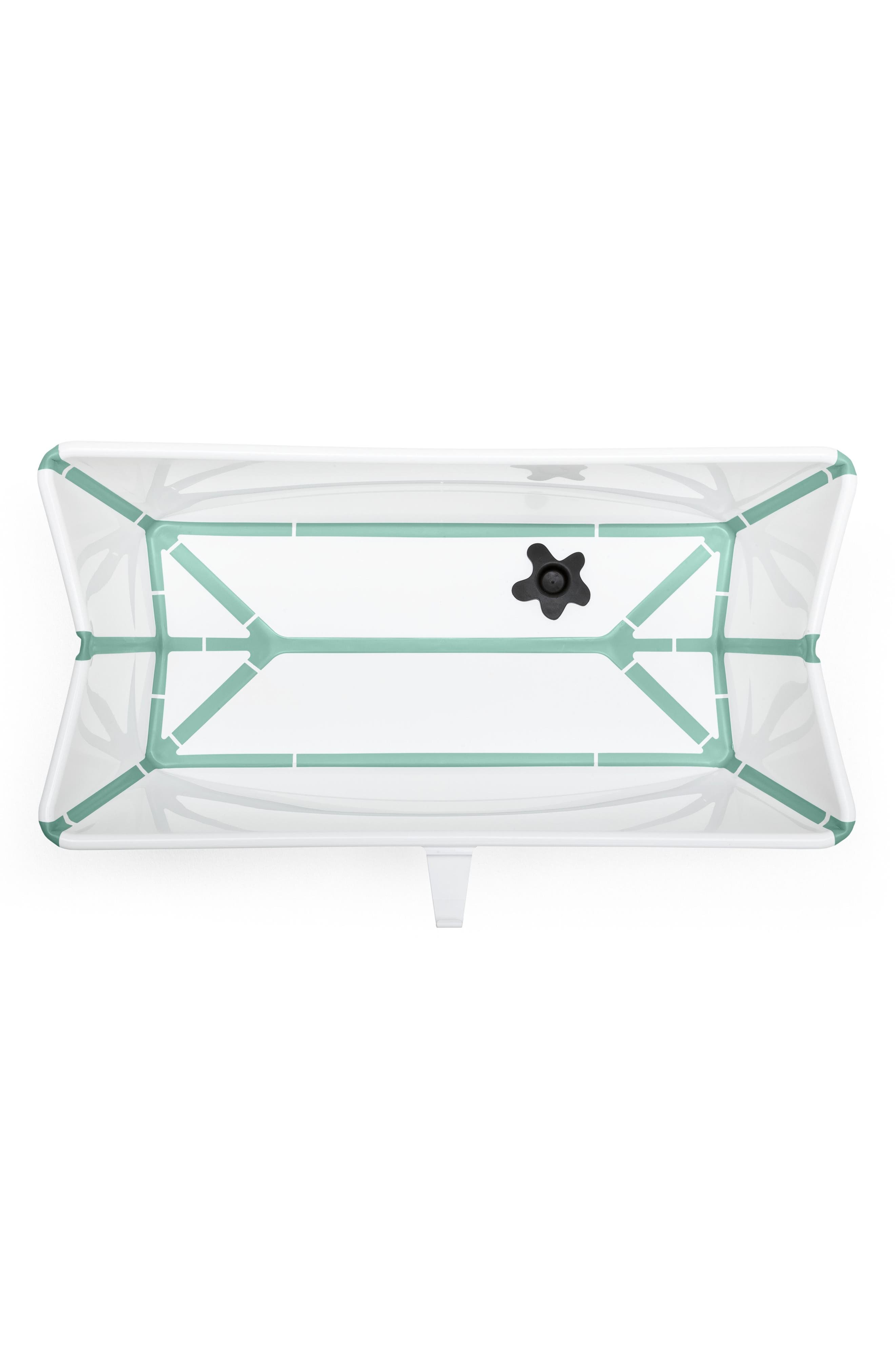 'Flexi Bath<sup>®</sup>' Foldable Baby Bathtub,                             Alternate thumbnail 2, color,                             Aqua