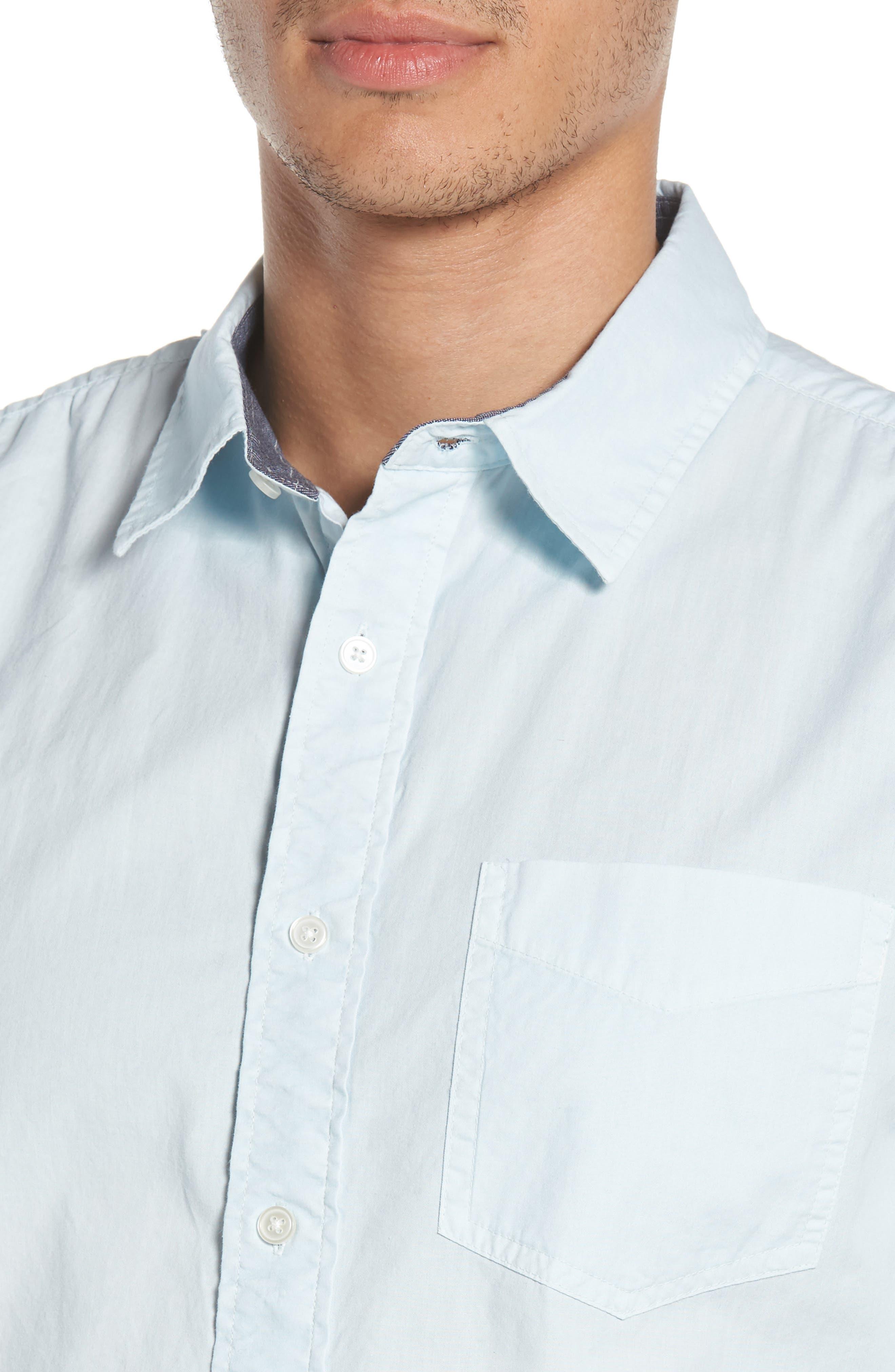 'Naples' Woven Shirt,                             Alternate thumbnail 2, color,                             Waterfall