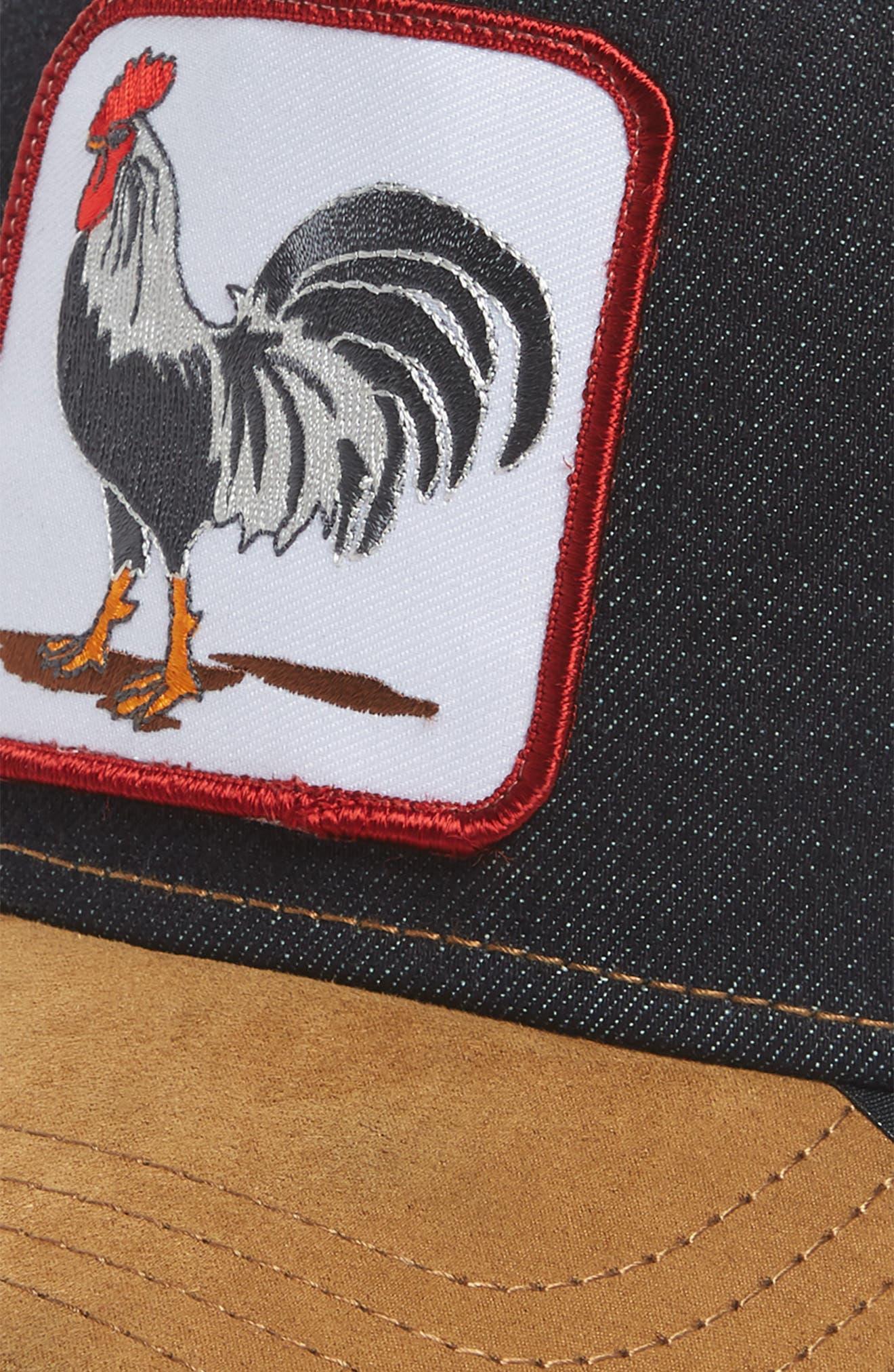 Long Crower Trucker Hat,                             Alternate thumbnail 2, color,                             Whiskey