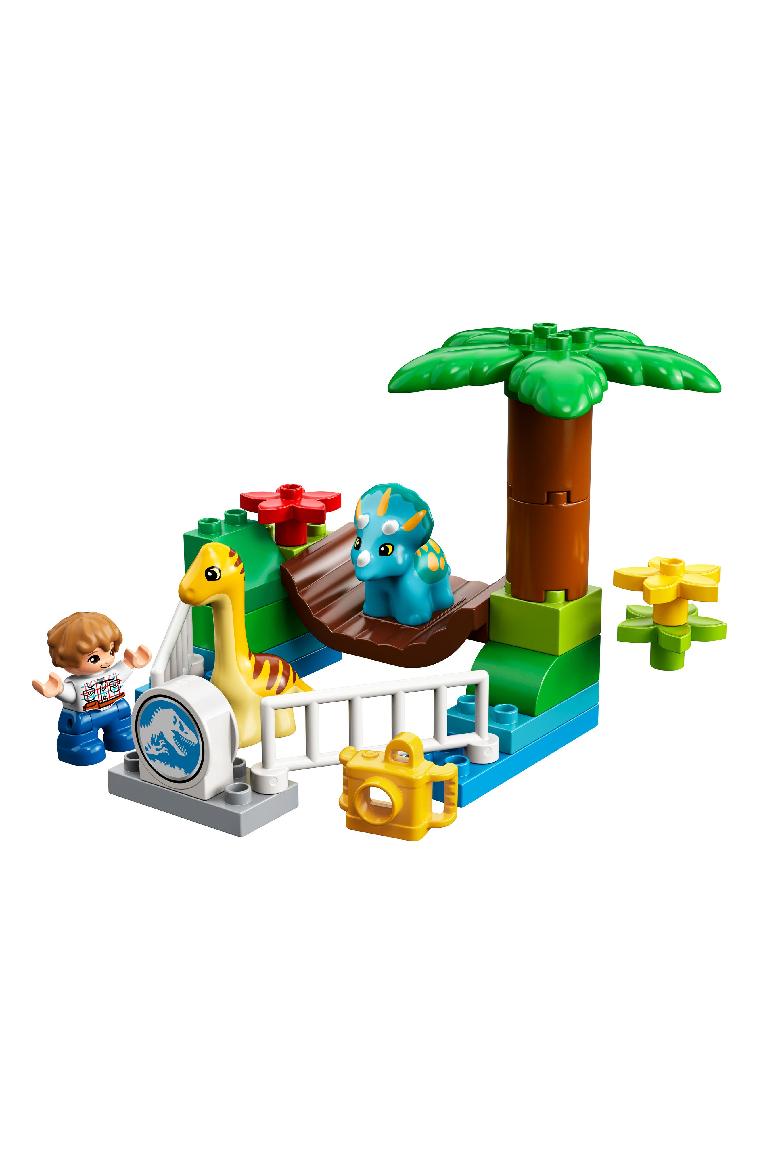 DUPLO<sup>®</sup> Gentle Giants Petting Zoo - 10879,                             Alternate thumbnail 3, color,                             Multi