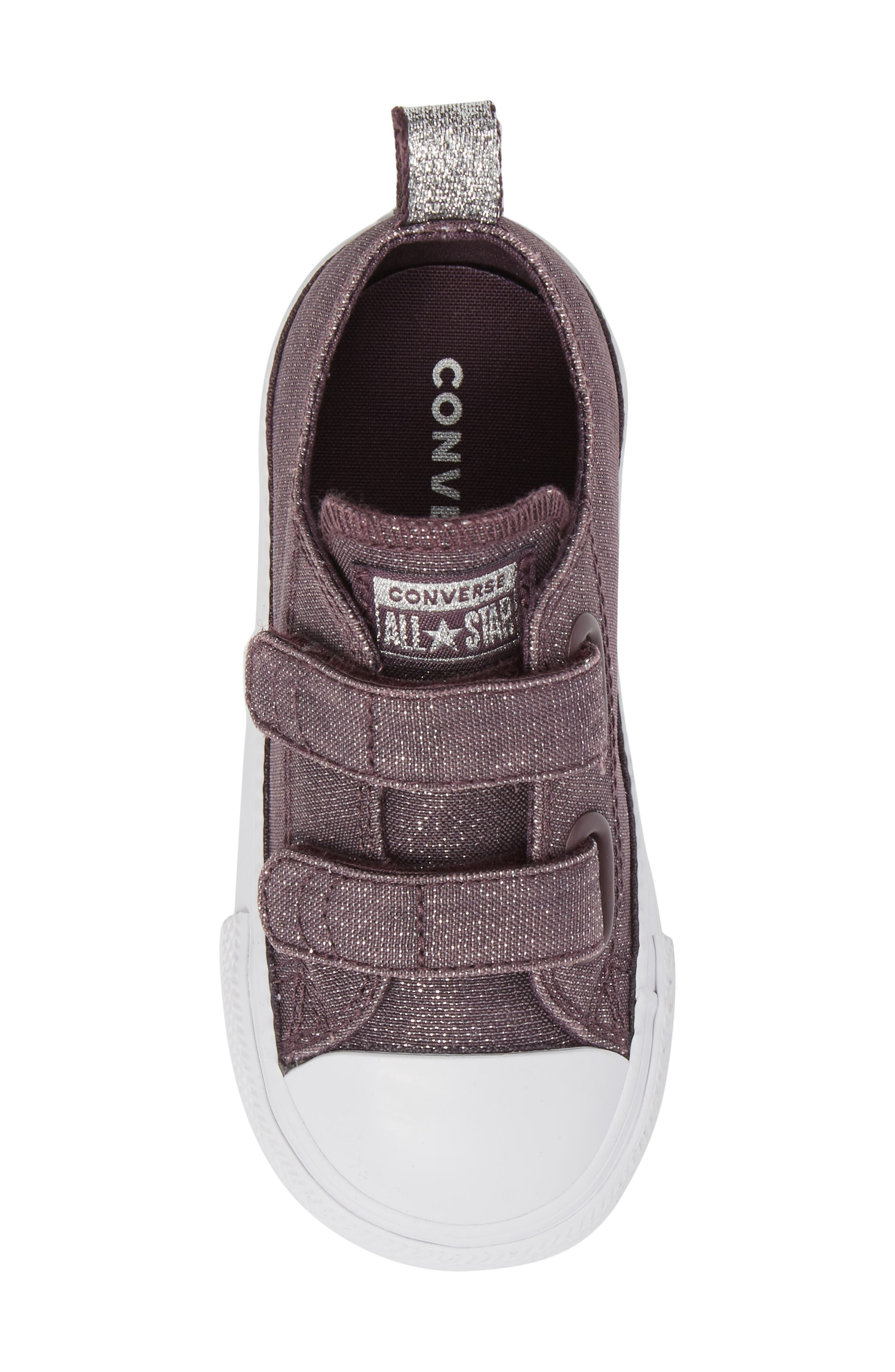 All Star<sup>®</sup> Shimmer 2V Sneaker,                             Alternate thumbnail 5, color,                             Dusk Purple