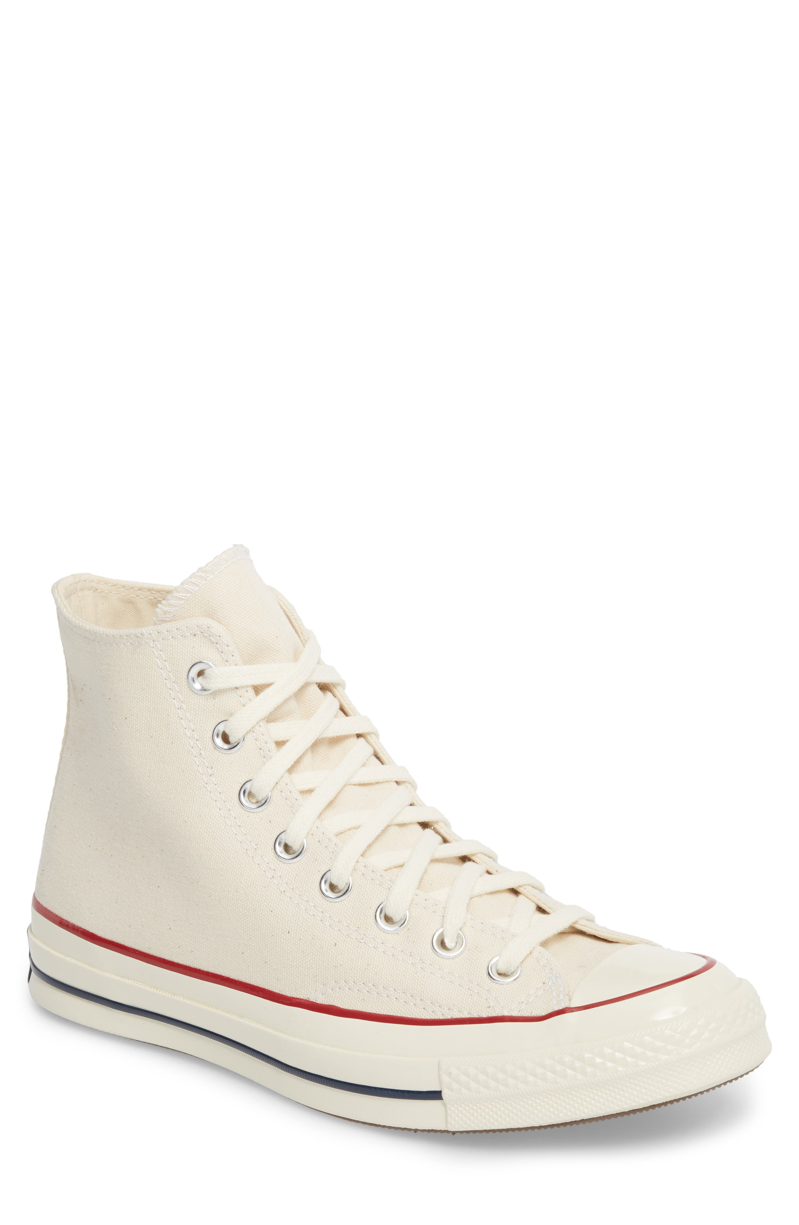 Chuck Taylor<sup>®</sup> All Star<sup>®</sup> 70 High Top Sneaker,                             Main thumbnail 1, color,                             Parchment