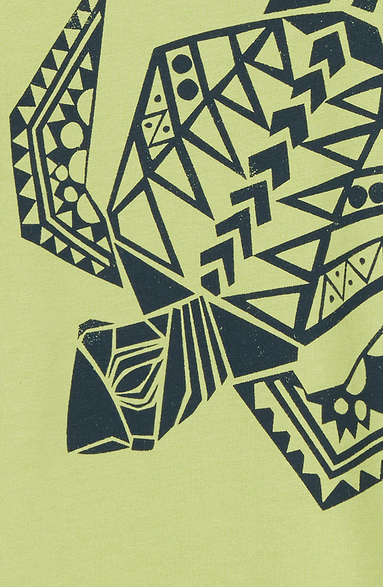 Sea Turtle Graphic Romper,                             Alternate thumbnail 2, color,                             Peridot