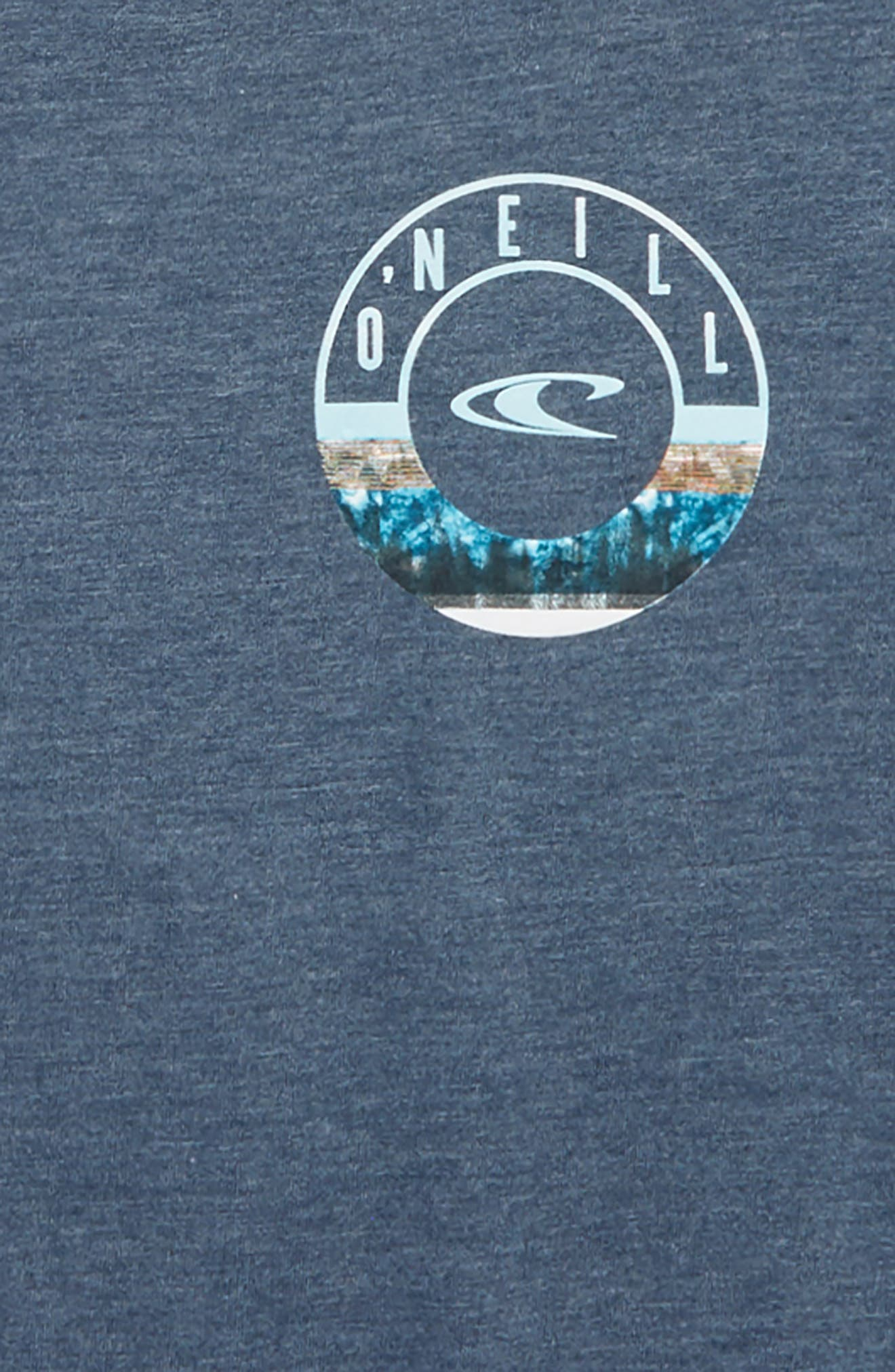 Fillmore Graphic T-Shirt,                             Alternate thumbnail 3, color,                             Navy Heather