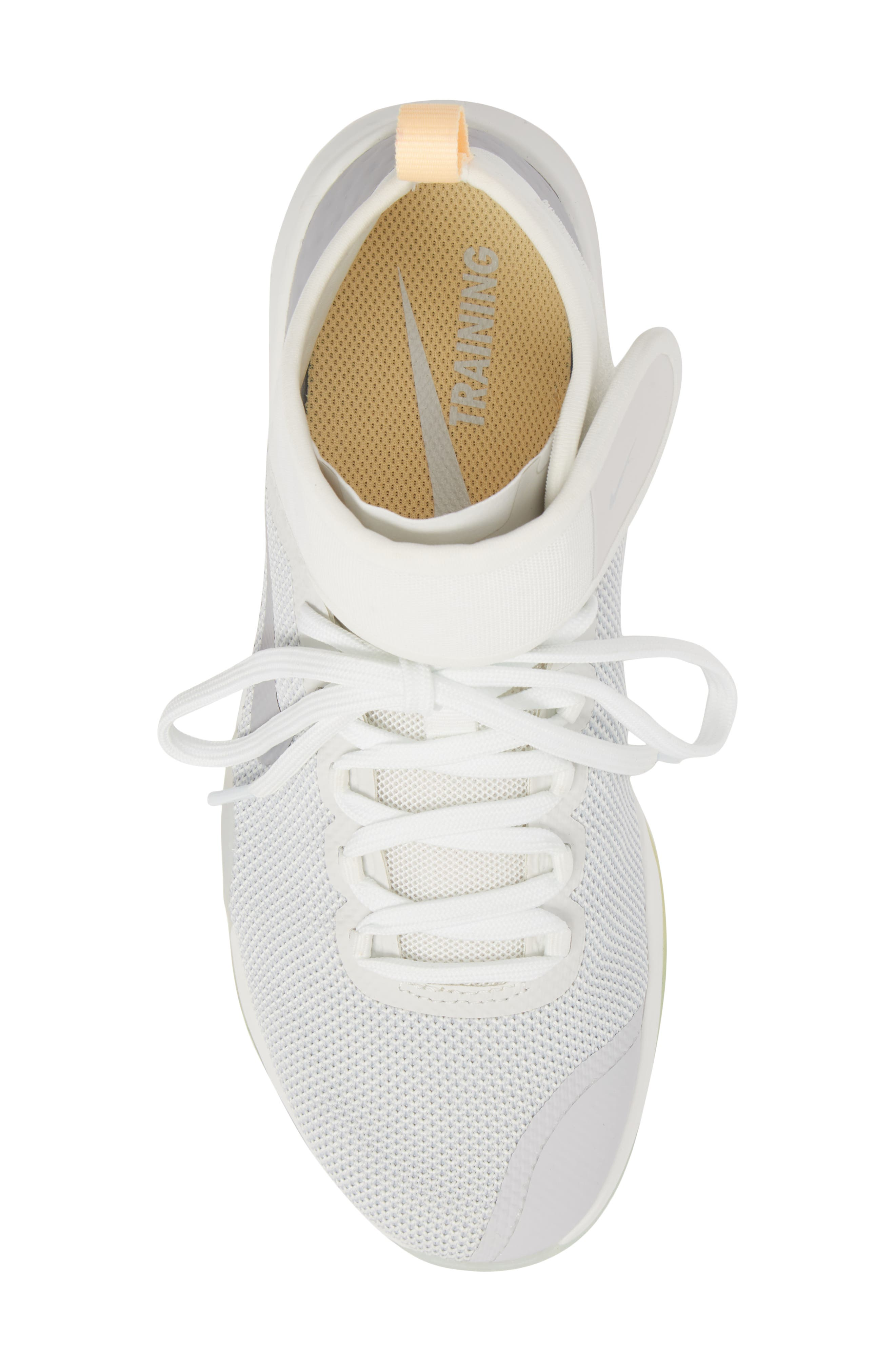 Air Zoom Strong 2 Rise Training Shoe,                             Alternate thumbnail 5, color,                             Summit White/ Wolf Grey
