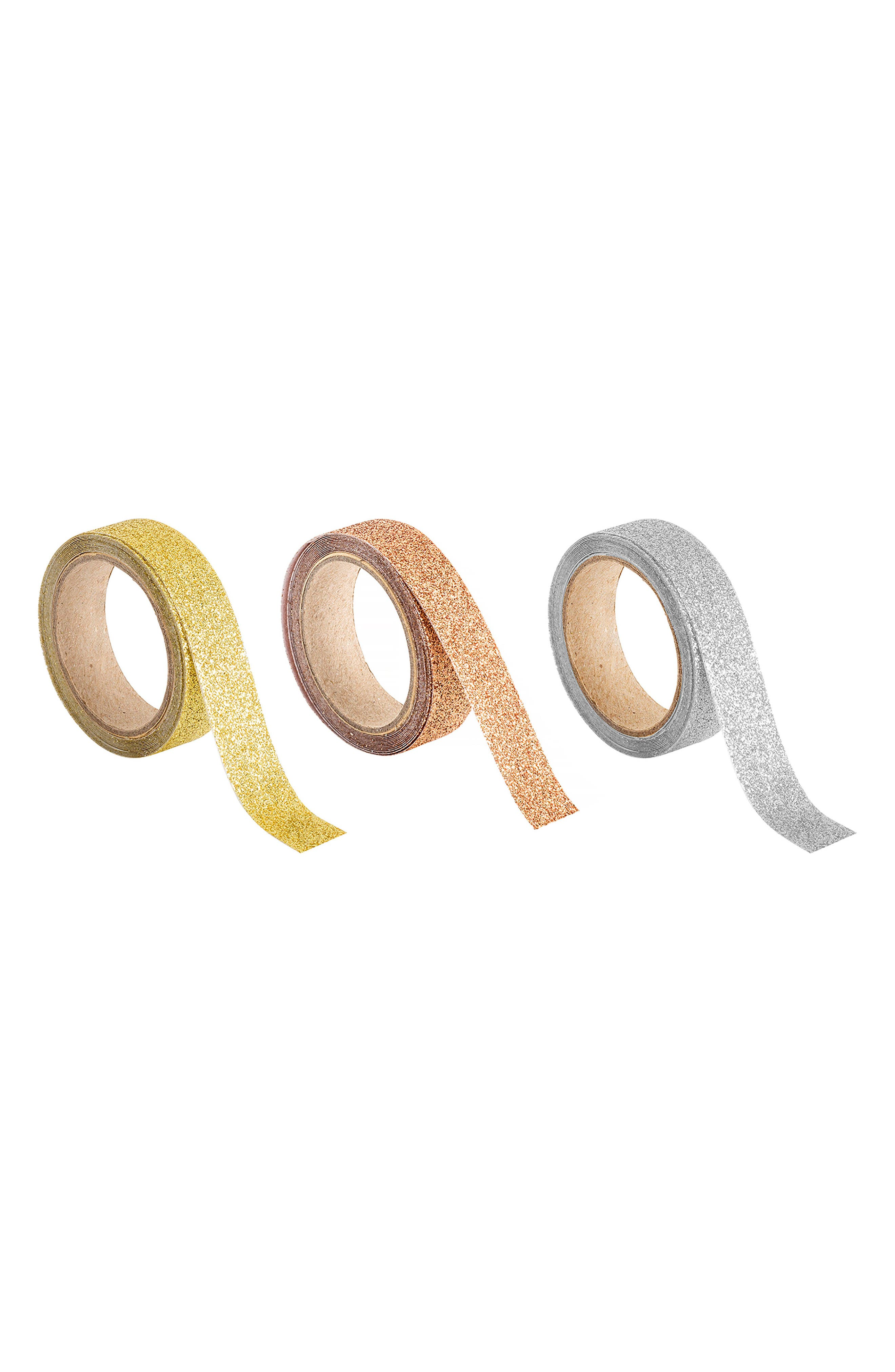 3-Pack Glitter Tape Set,                         Main,                         color, Multi