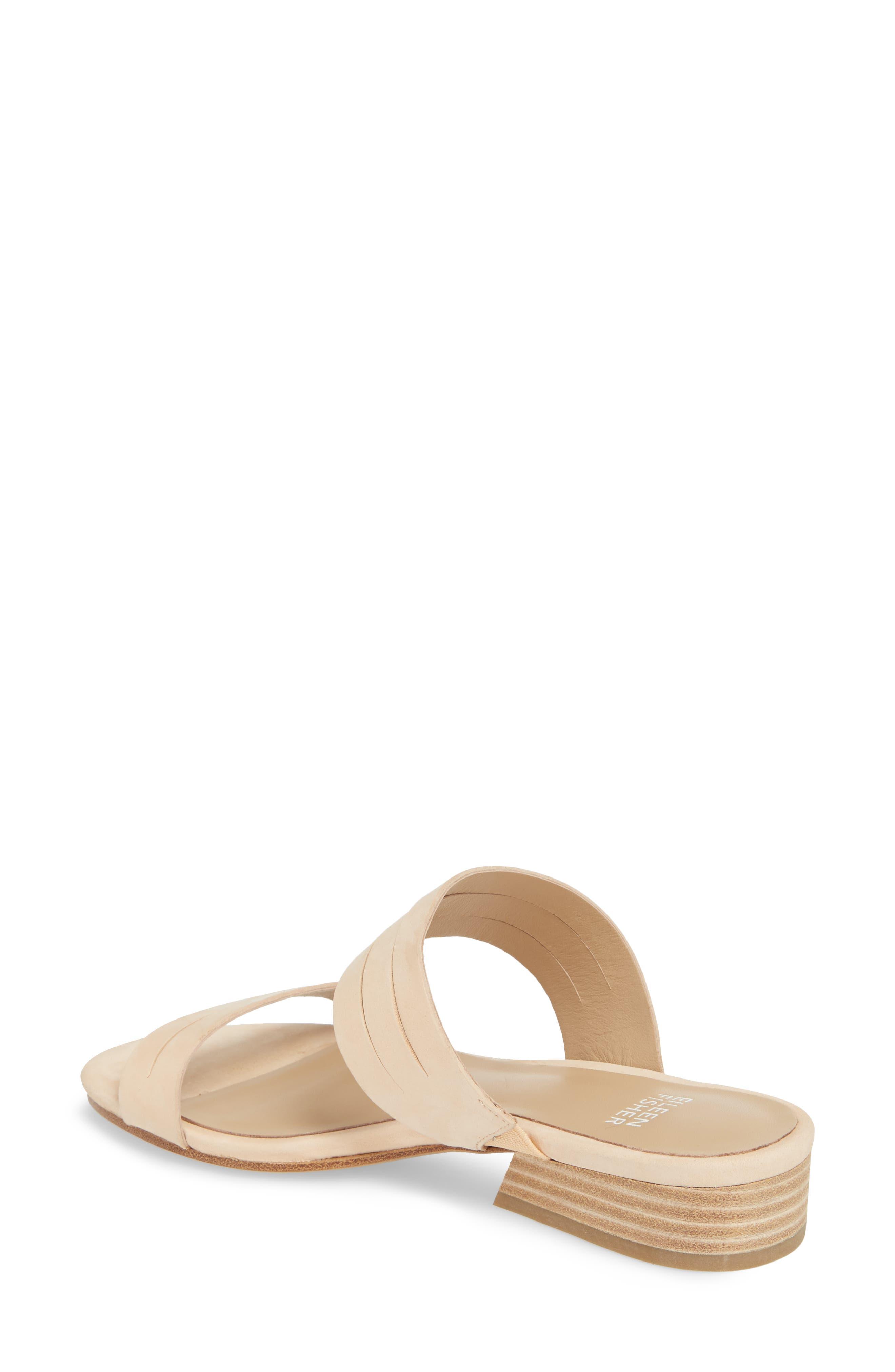 Finch Slide Sandal,                             Alternate thumbnail 2, color,                             Cream Nubuck
