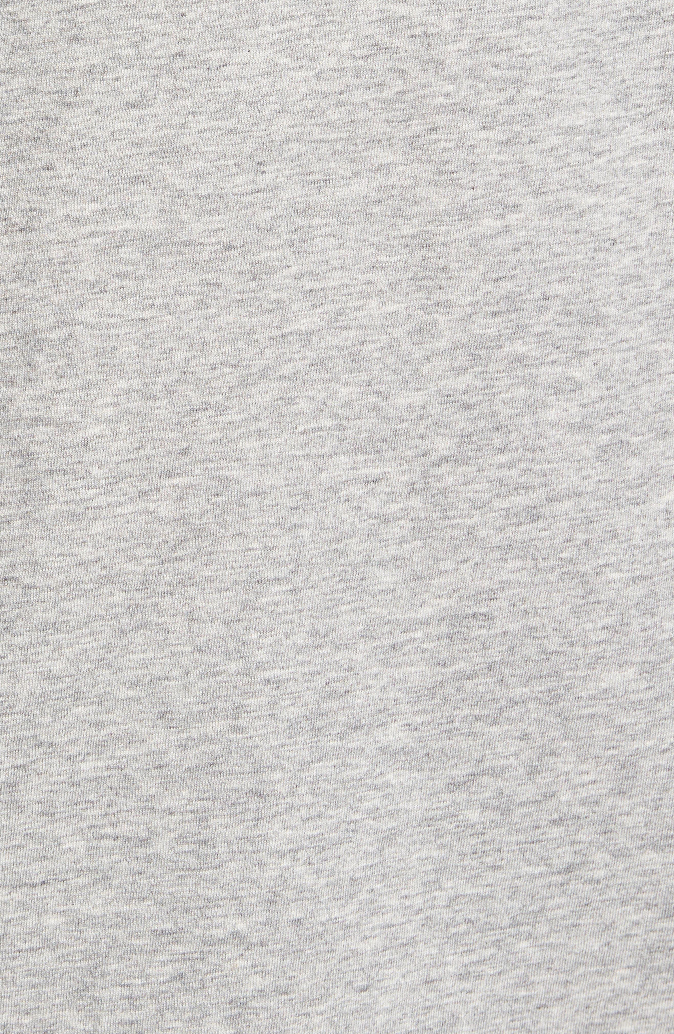 Vacation Collage T-Shirt,                             Alternate thumbnail 5, color,                             Grey Heather
