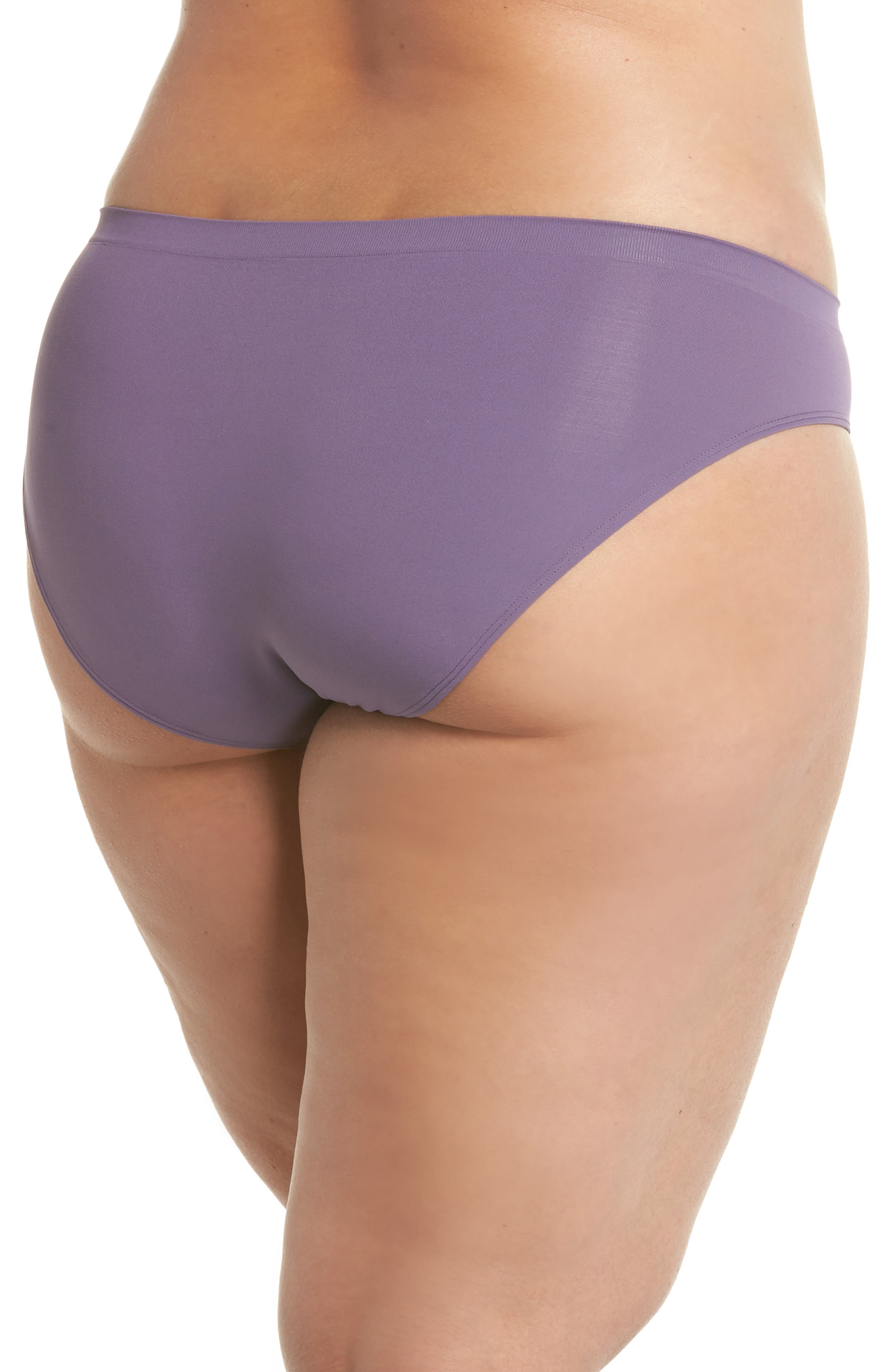 Seamless Bikini,                             Alternate thumbnail 2, color,                             Purple Mulled