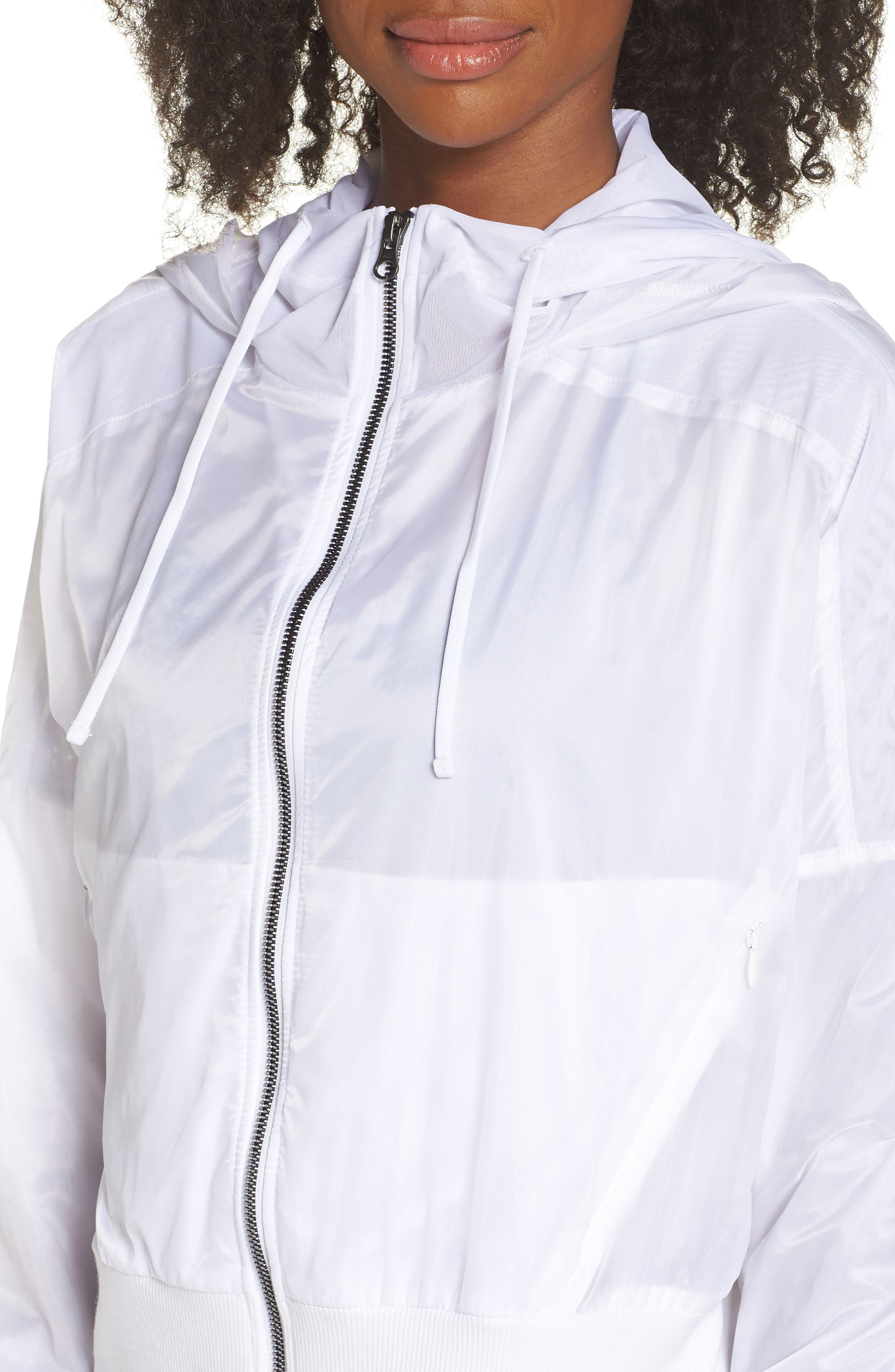 Aqua Jacket,                             Alternate thumbnail 4, color,                             White