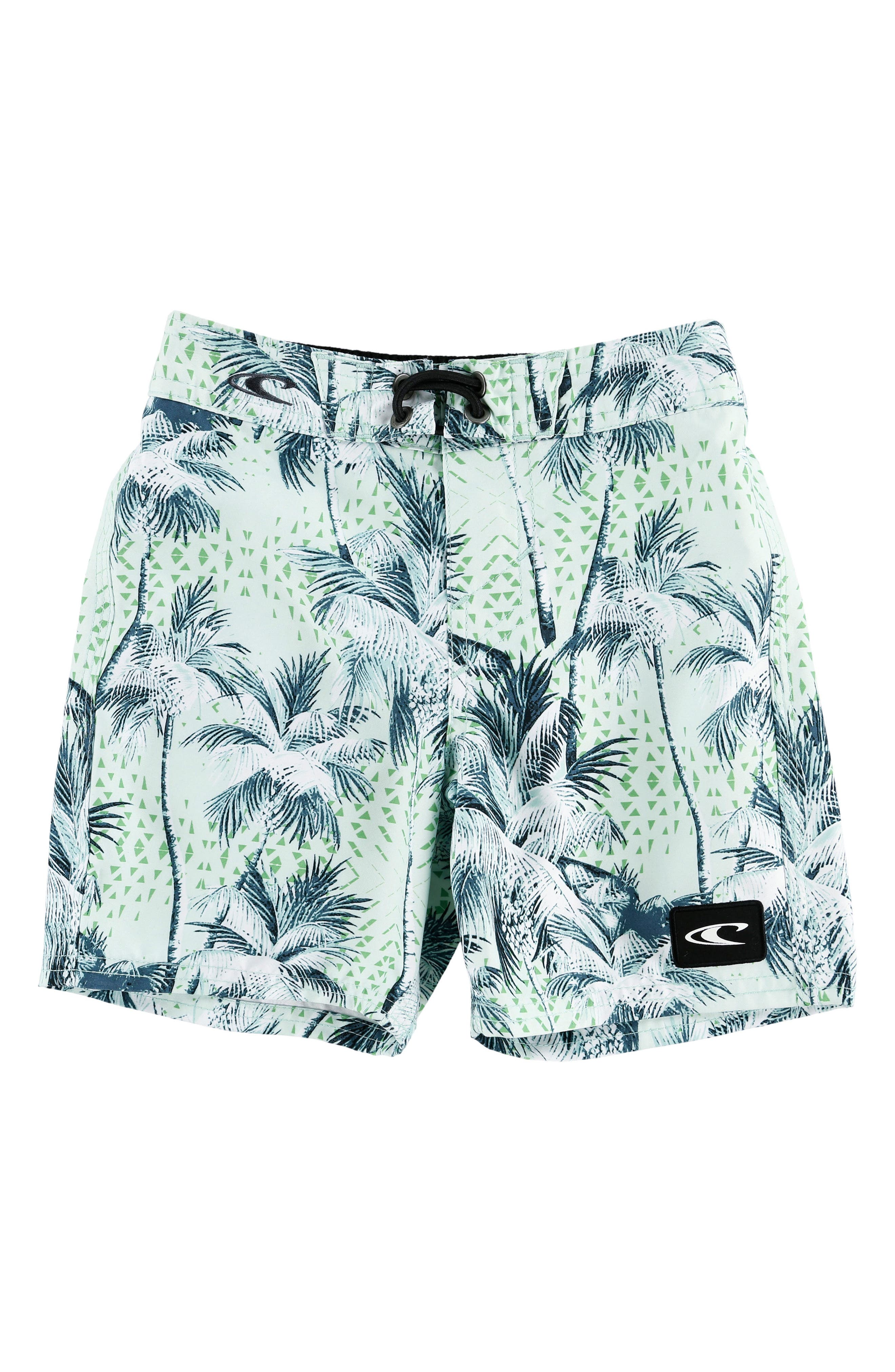 Darn Old Palmer Board Shorts,                         Main,                         color, Pale Blue