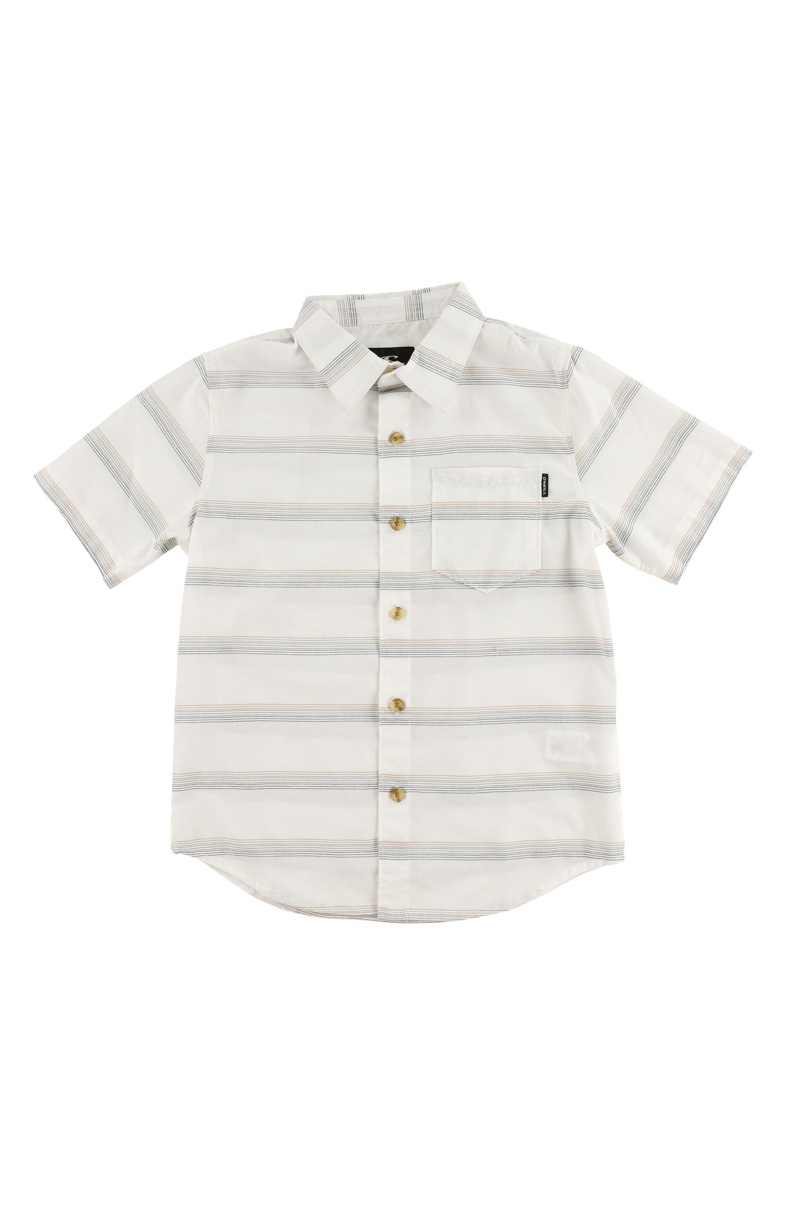Pickett Woven Shirt,                         Main,                         color, White