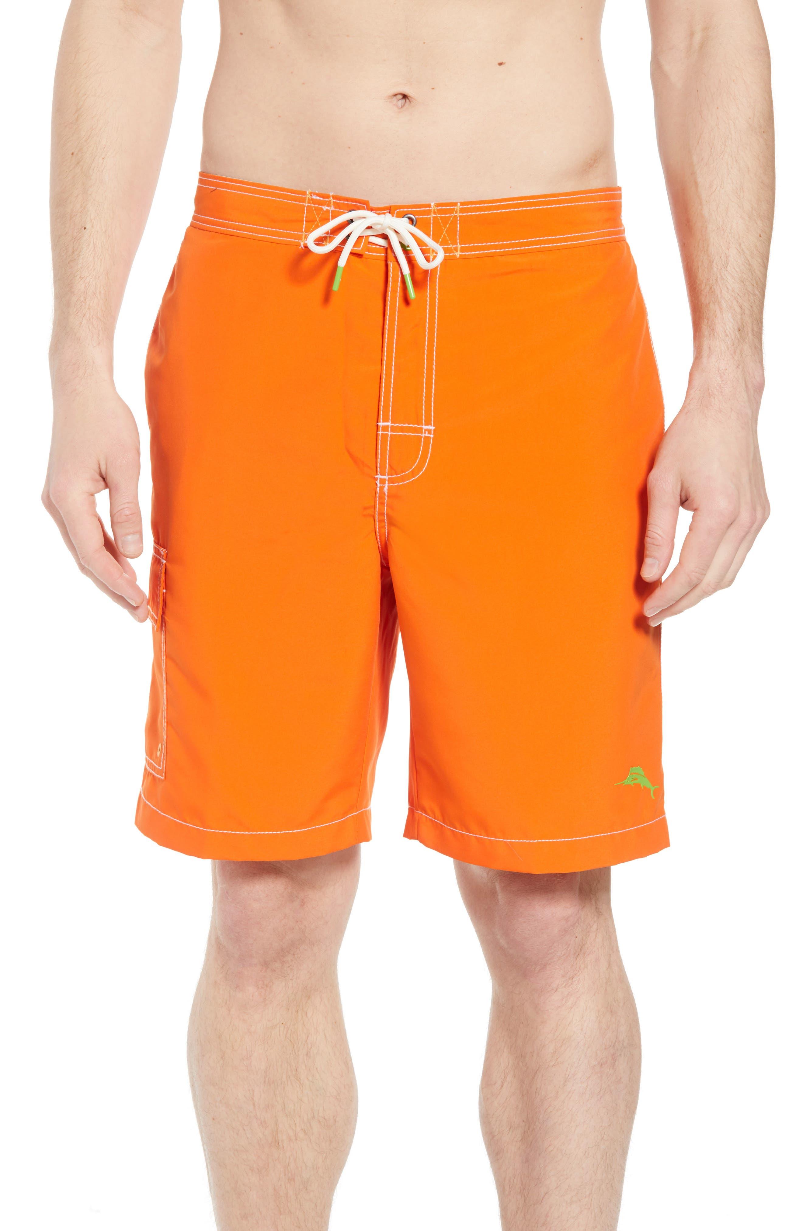 Baja Beach Board Shorts,                             Main thumbnail 1, color,                             Curuba