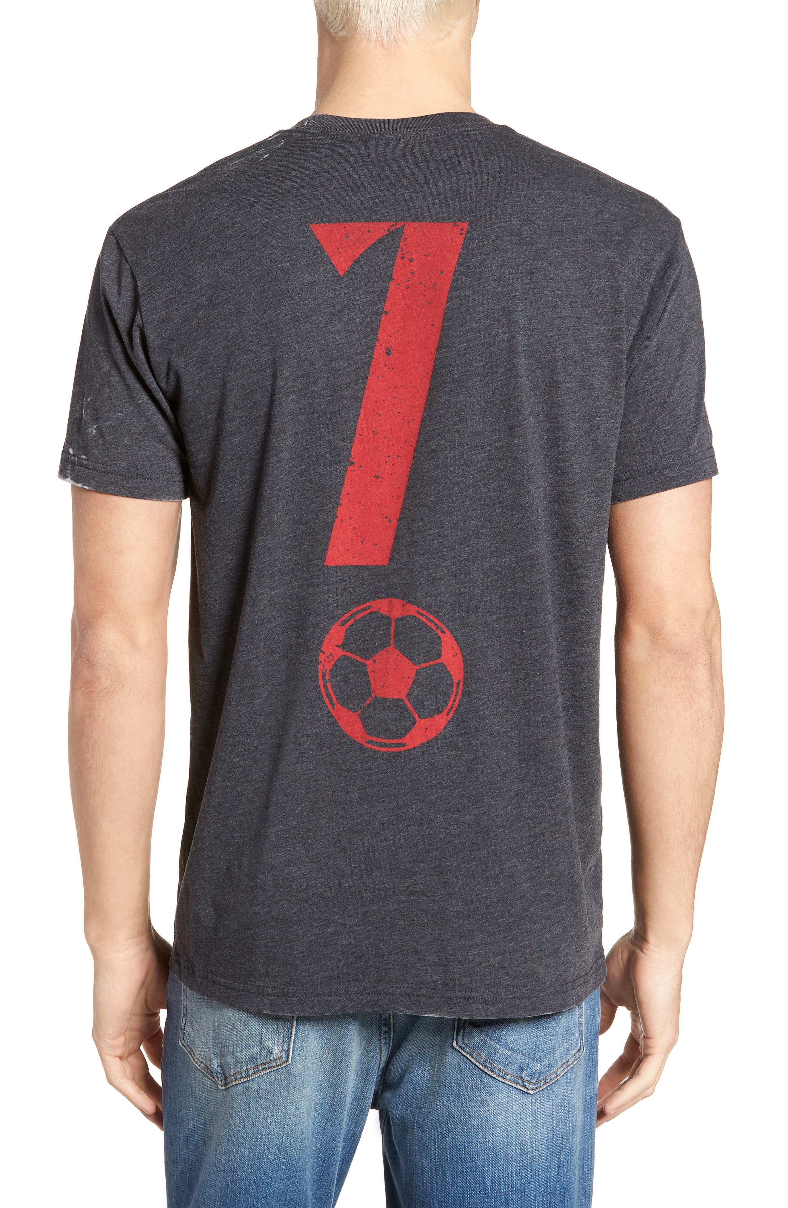 Portugal Jersey T-Shirt,                             Alternate thumbnail 2, color,                             Grey