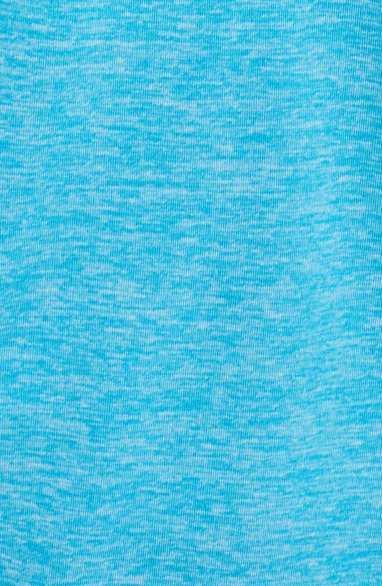 Layered Sport Tankini Top,                             Alternate thumbnail 5, color,                             Light Blue Fury