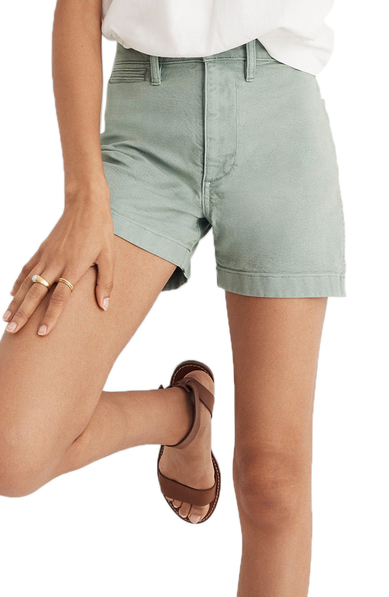 emmett-high-waist-shorts by madewell