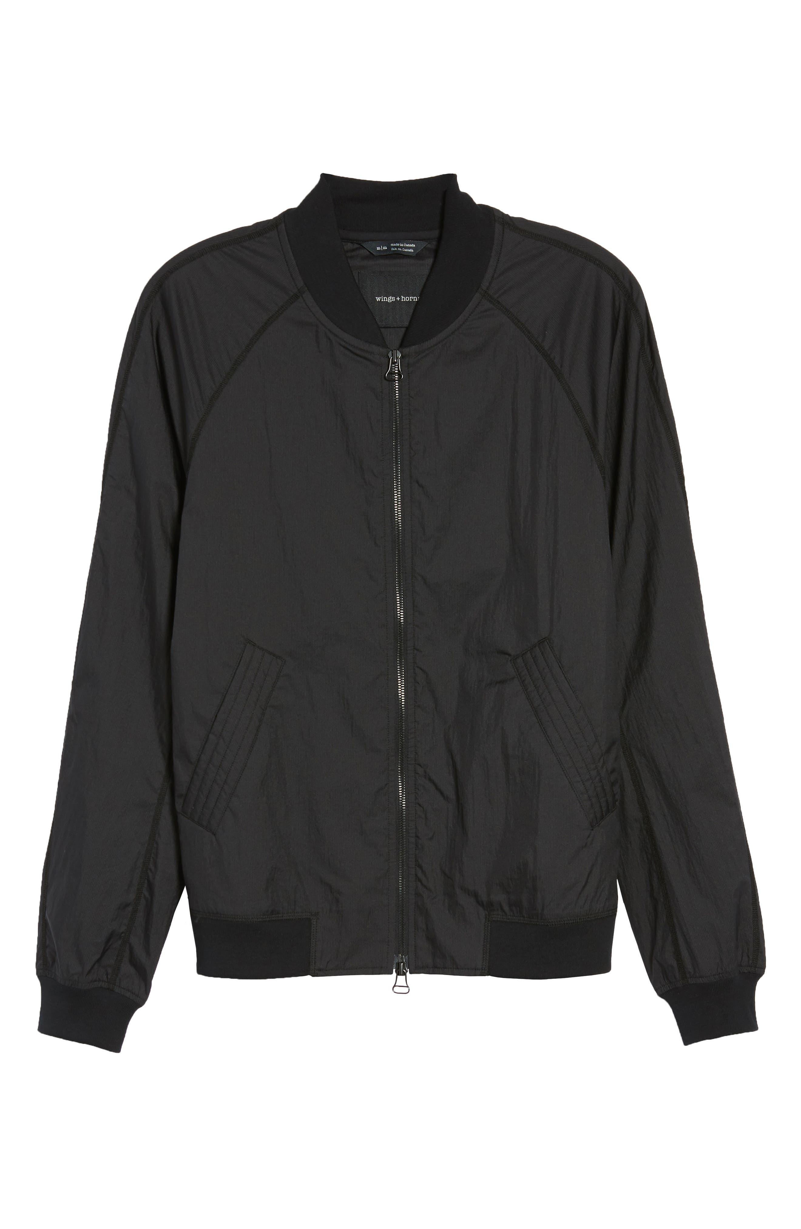 Souvenir Jacket,                             Alternate thumbnail 6, color,                             Black